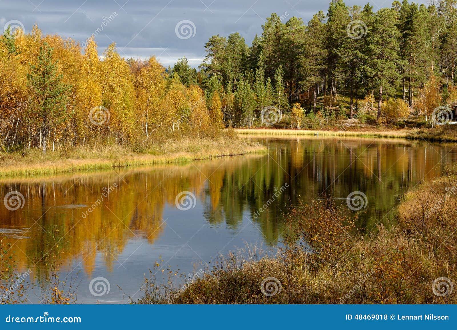 Autumn in Klutsjön