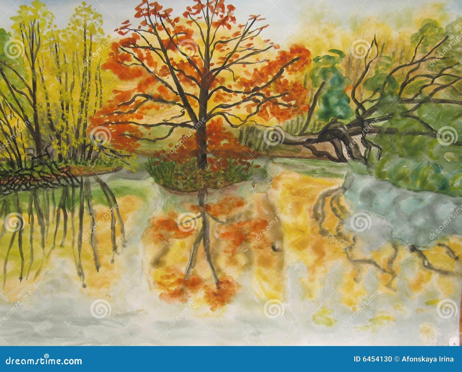 Autumn krajobrazu