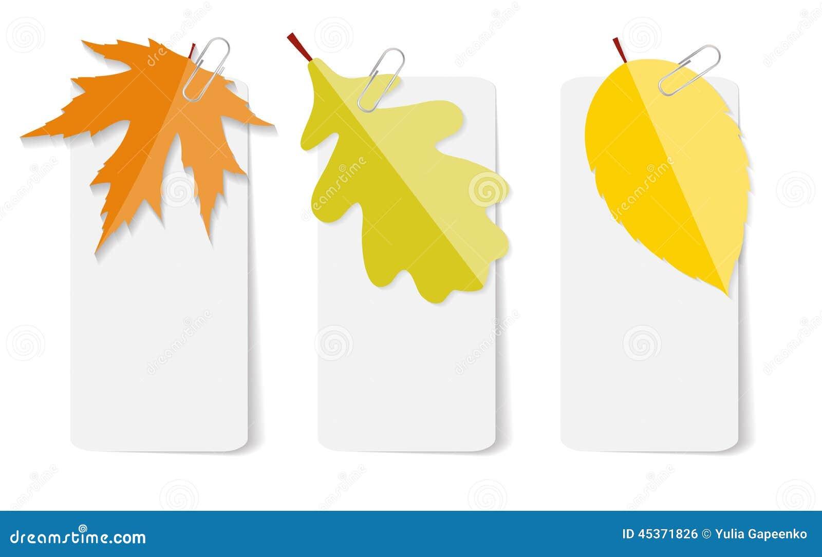 Autumn Leaves Infographic Templates pour des affaires