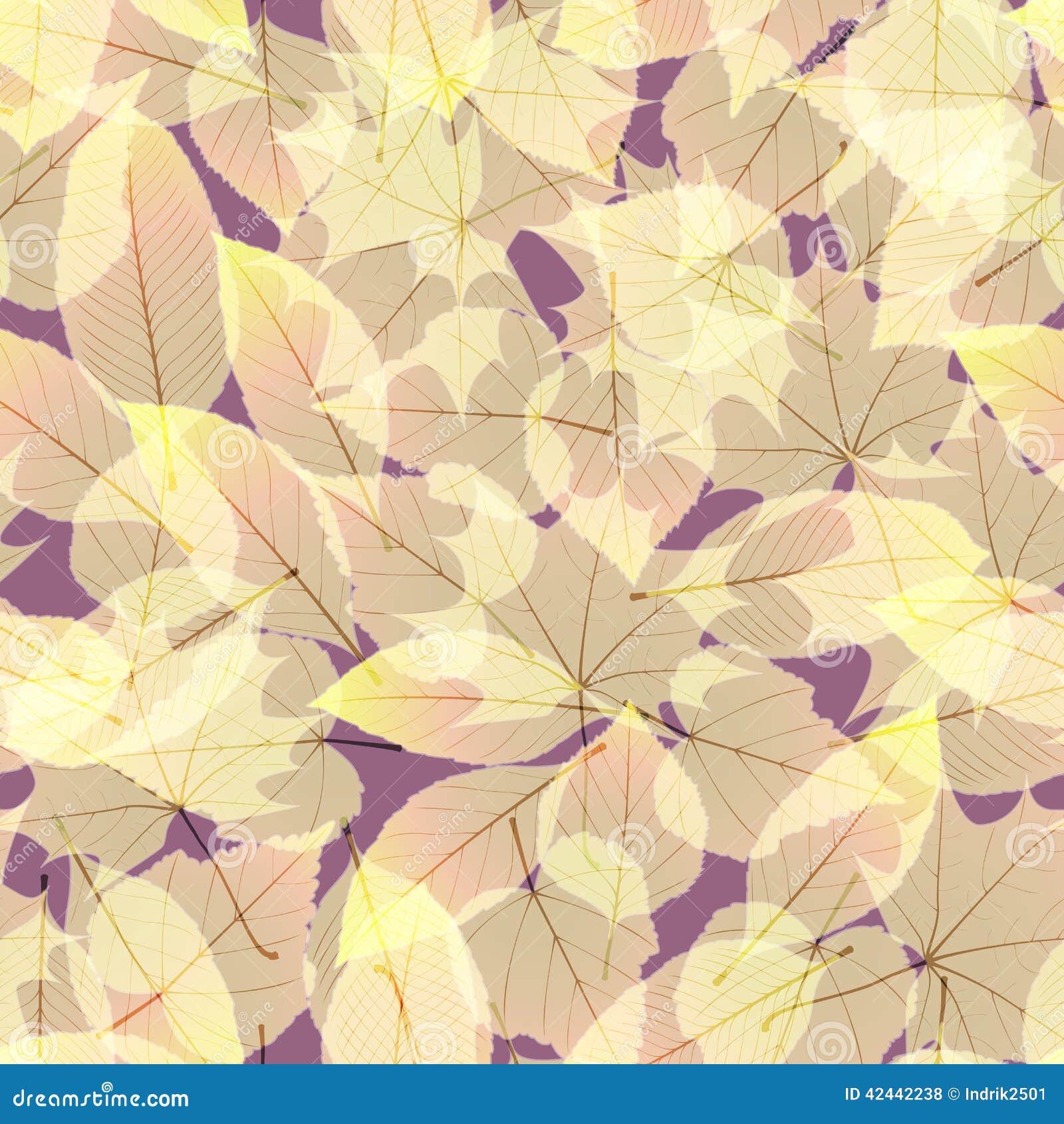 Autumn Leaves transparente EPS10 más