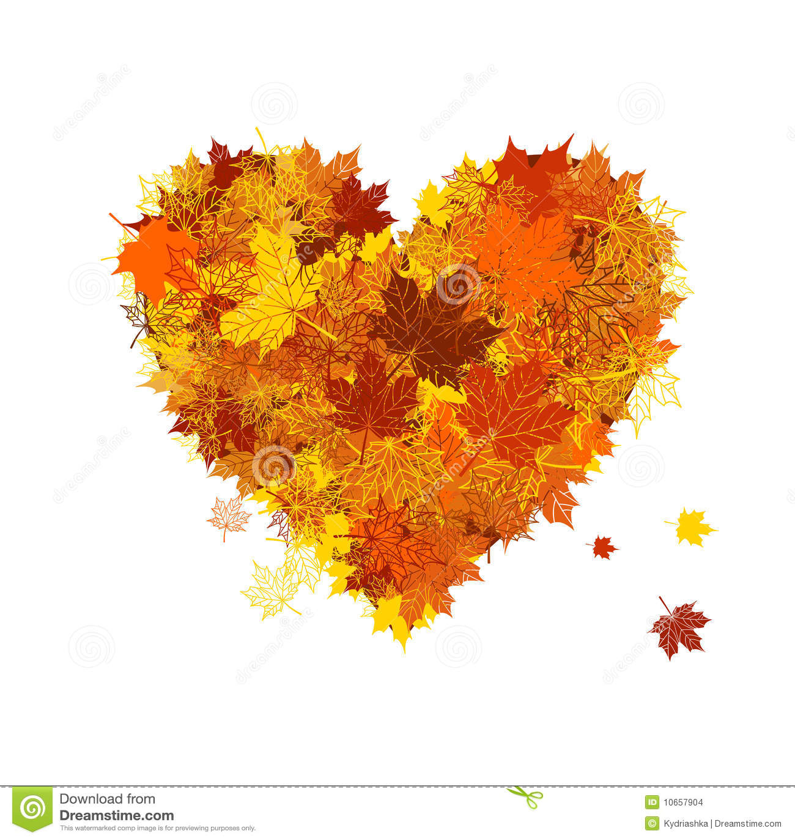 red autumn leaf clip art