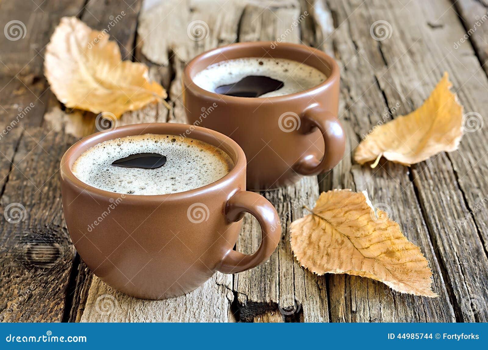 Morning Autumn Cafe Breakfast