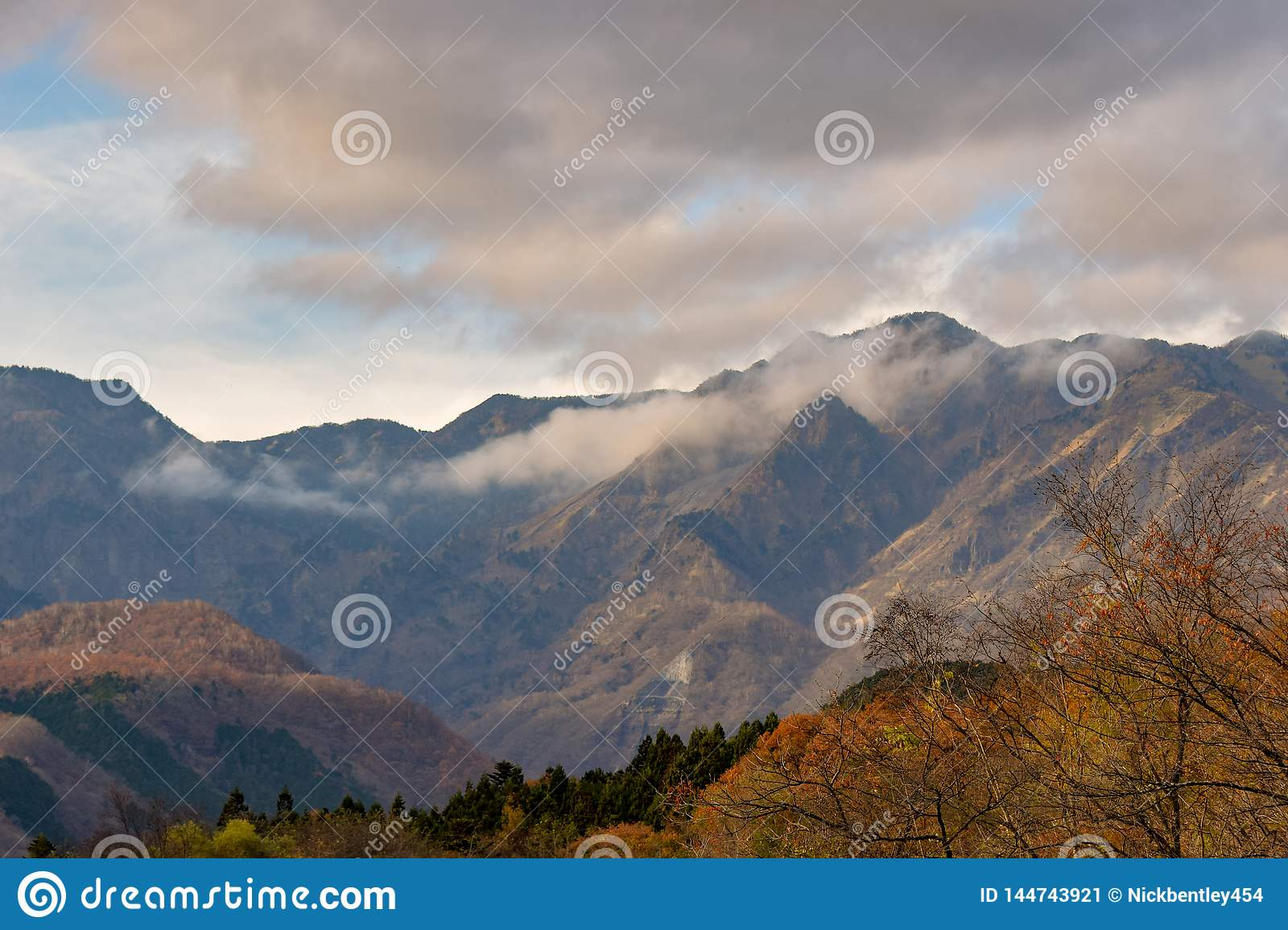 Autumn Mountain View Nikko