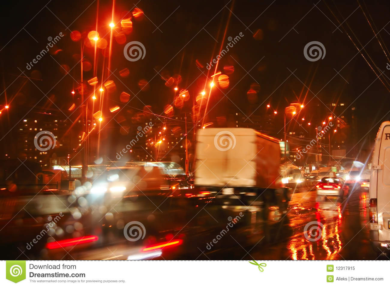 autumn night rain windshield city road cars lights stock image image of house dirty 12317915. Black Bedroom Furniture Sets. Home Design Ideas