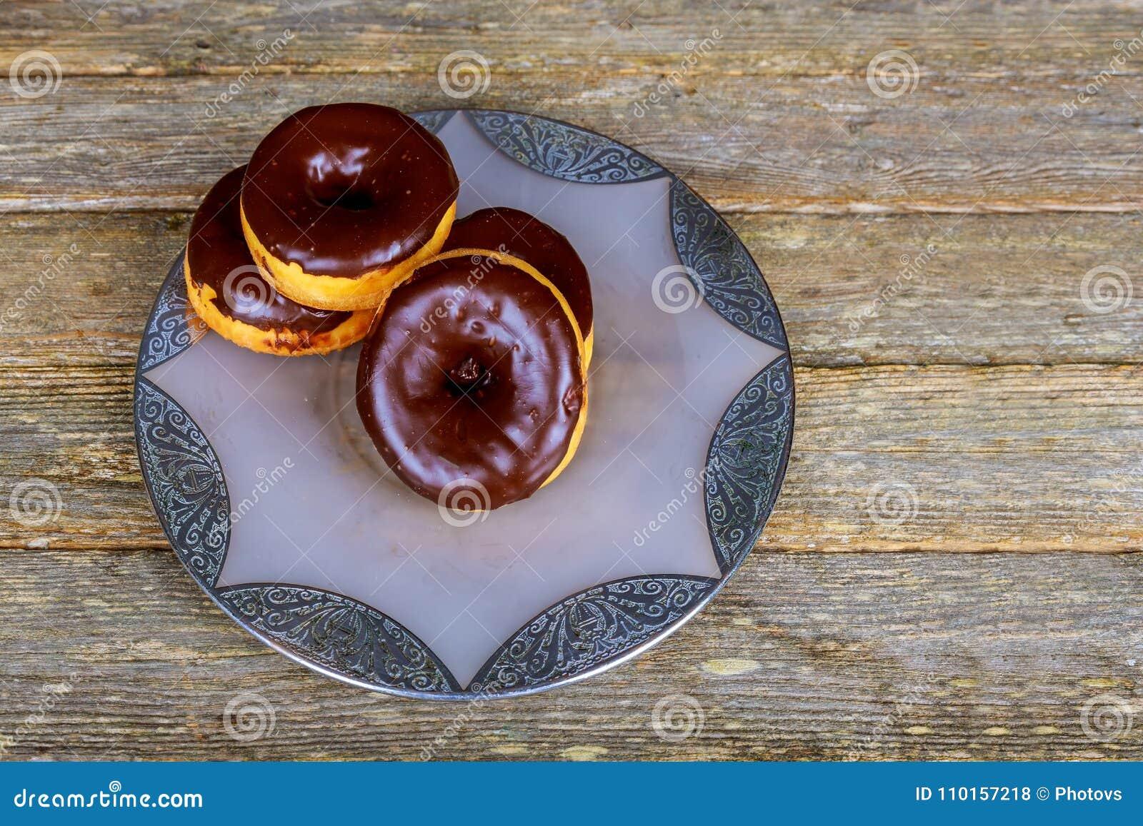 Autumn Pumpkin Donuts Ready vitrificado caseiro a comer
