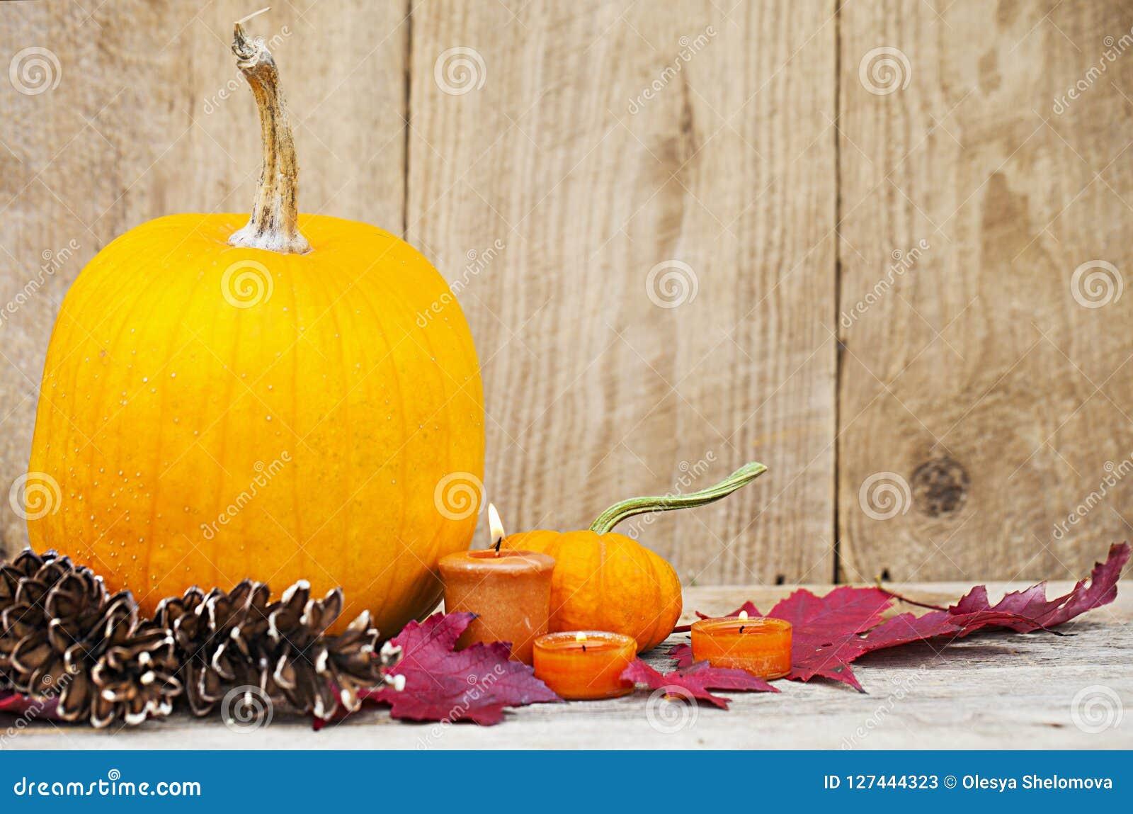 Autumn Pumpkin Thanksgiving-Dekoration