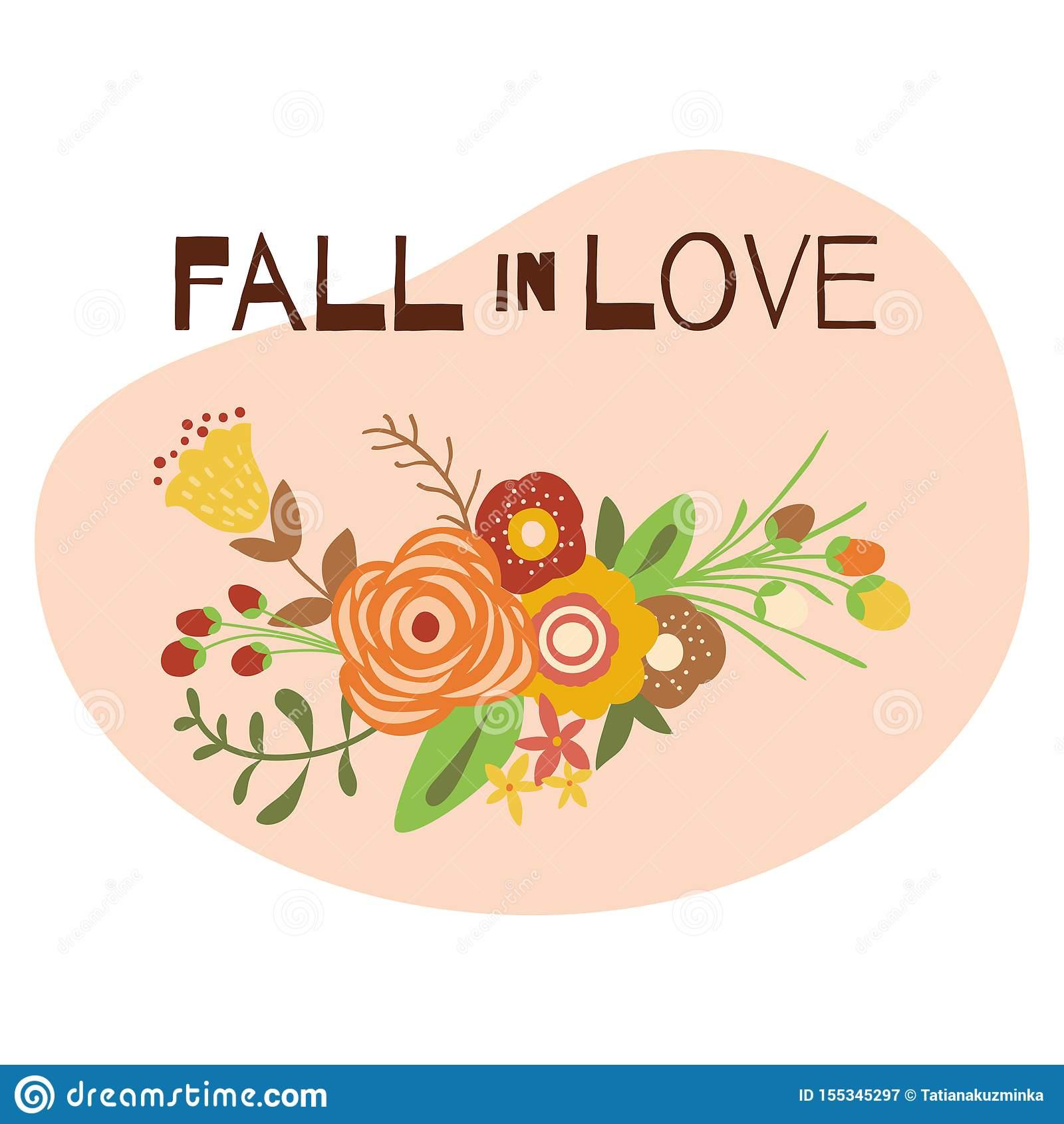 Autumn Quotes Fall In Love Cute Autumn Phrases Floral Bouquet