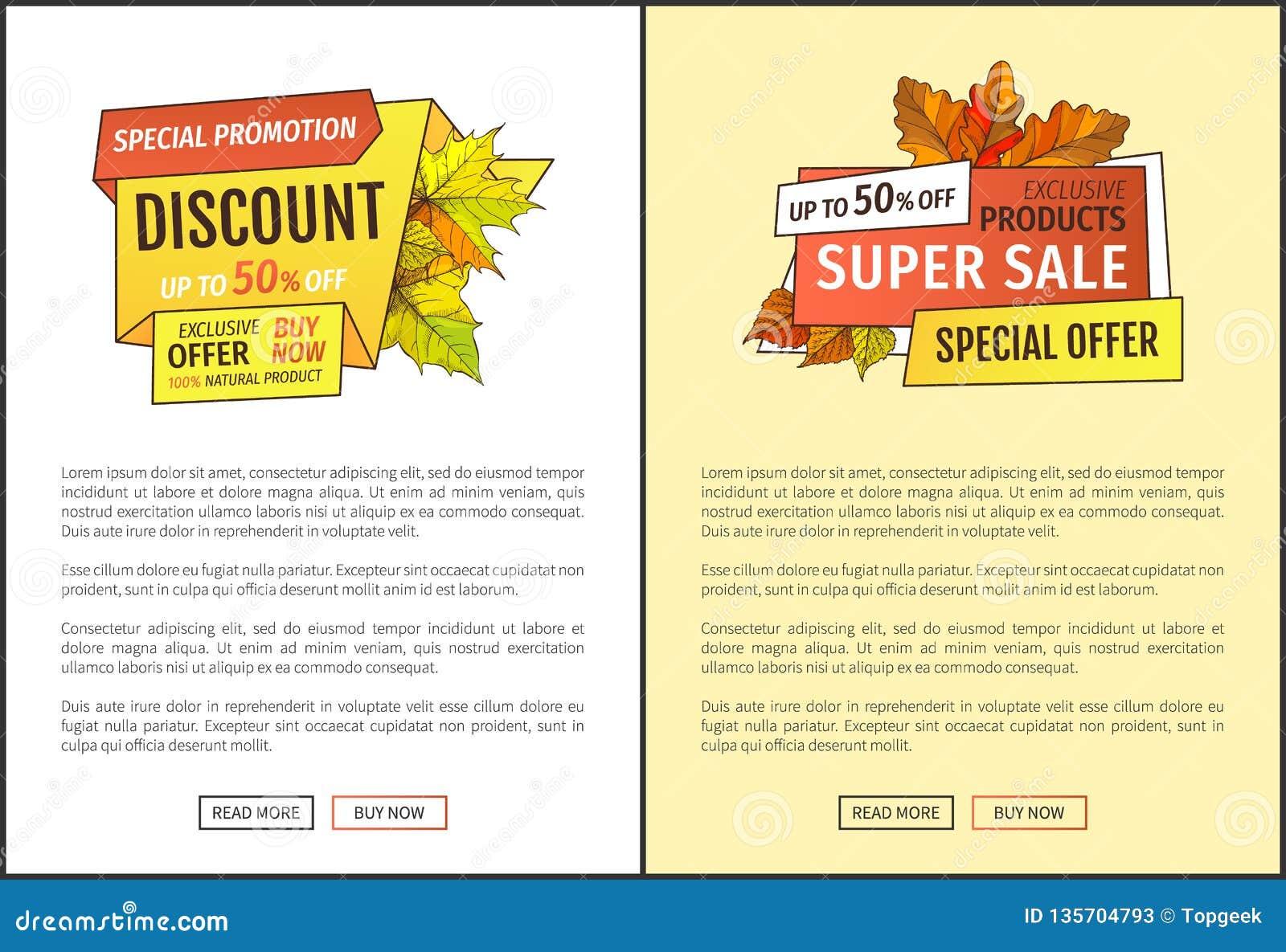 Autumn Sale Coupon, Promo Especial Del Follaje Amarillo