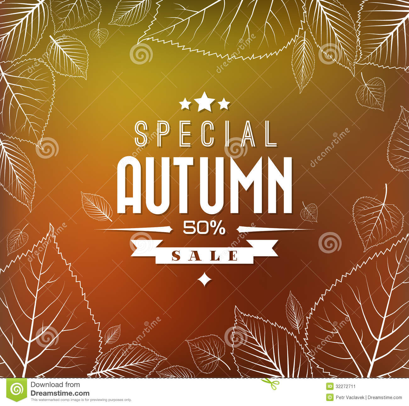 Autumn sale vector background stock vector image 32272711 for Abstract posters for sale