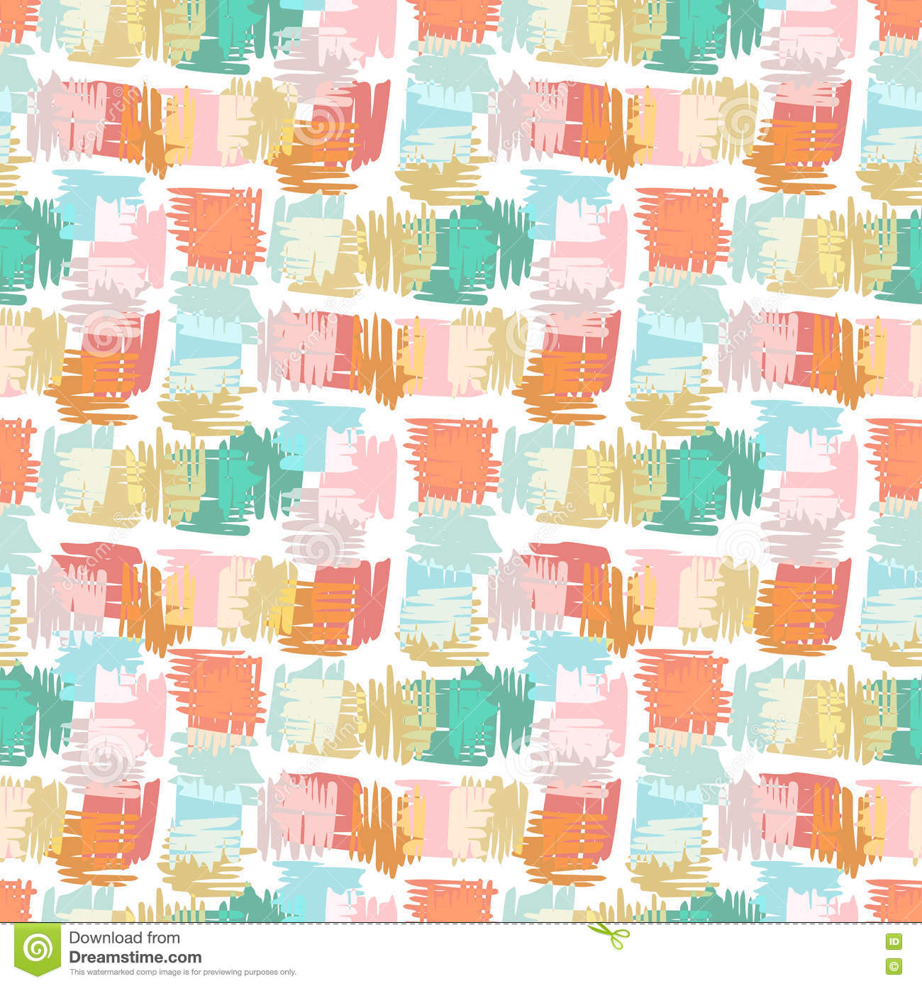 Autumn seamless pattern vector background for kids fabric for Kids pattern fabric
