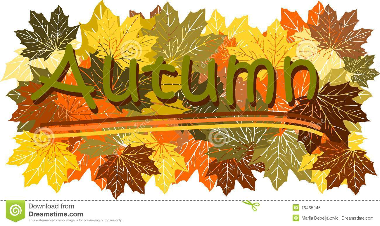 autumn sign royalty free stock image