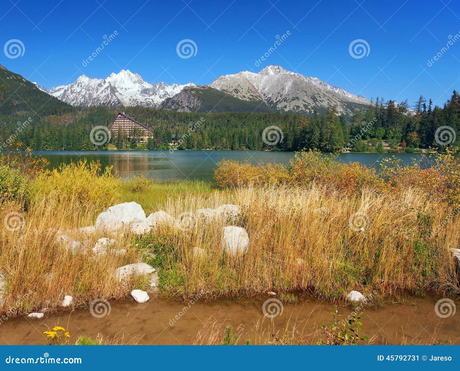 Autumn at Strbske Pleso, High Tatras, Slovakia