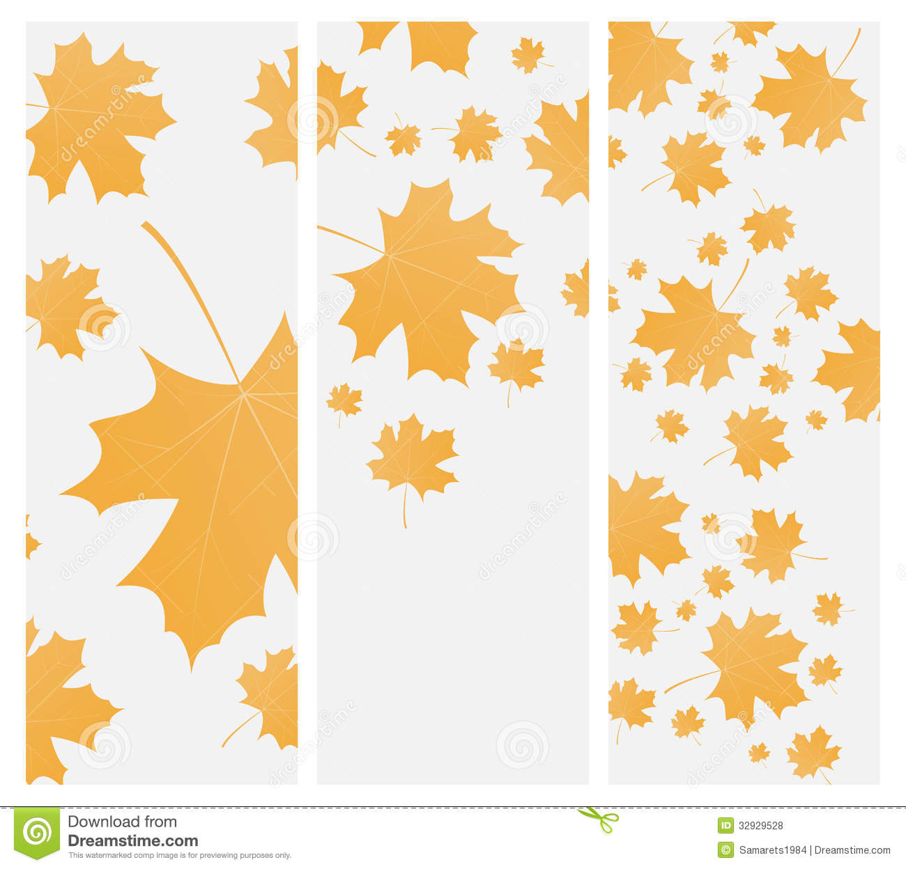 autumn template flyer or invitation stock vector illustration of