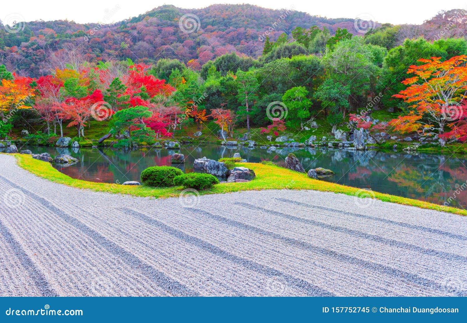 Autumn at Tenryuji temple