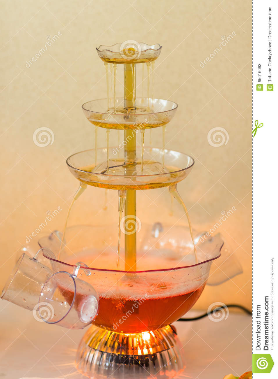 Autumn Wedding Punch Bowl Stock Image Image Of Gourmet 65016093