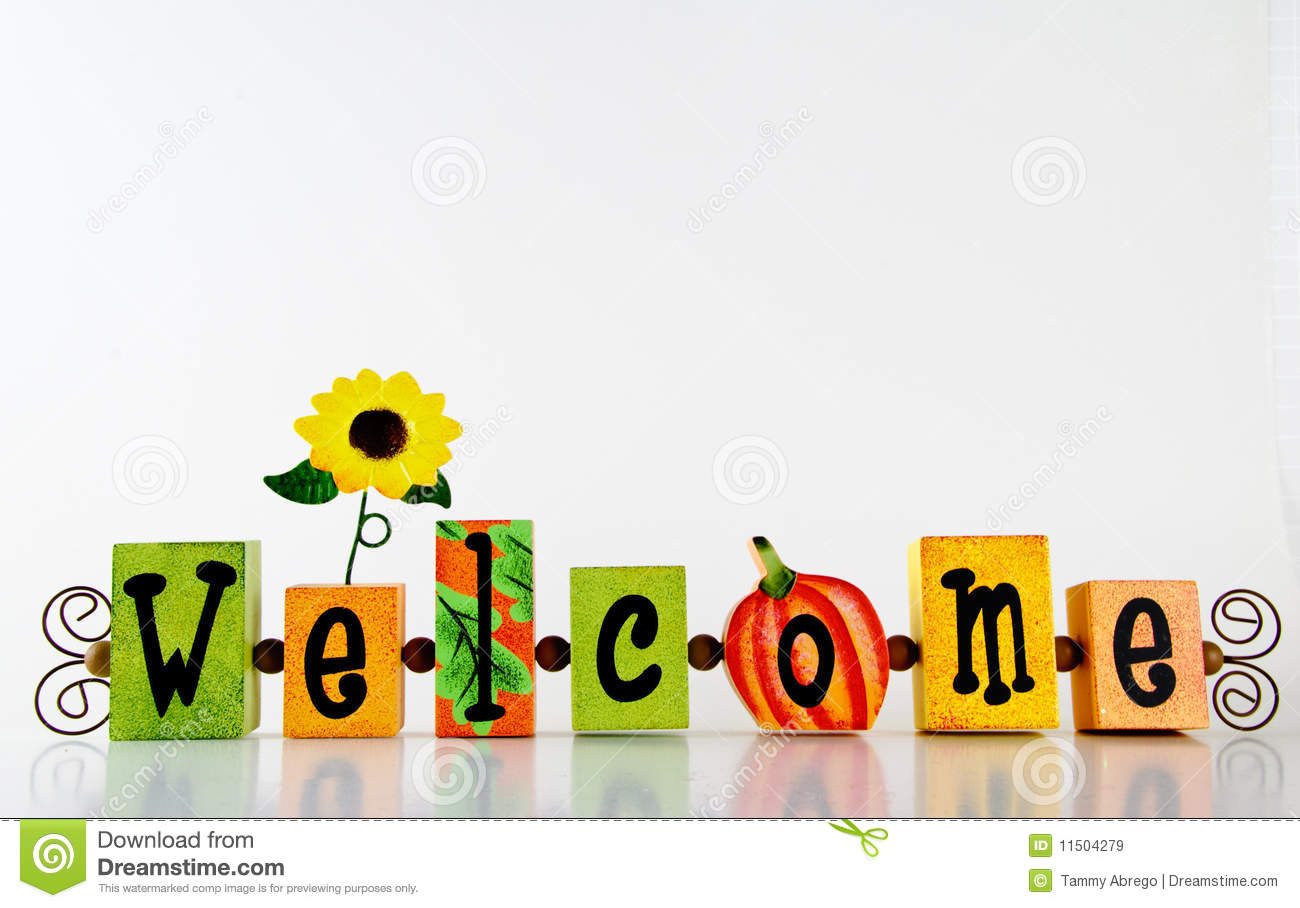 Autumn Welcome Frame Royalty Free Stock Images Image