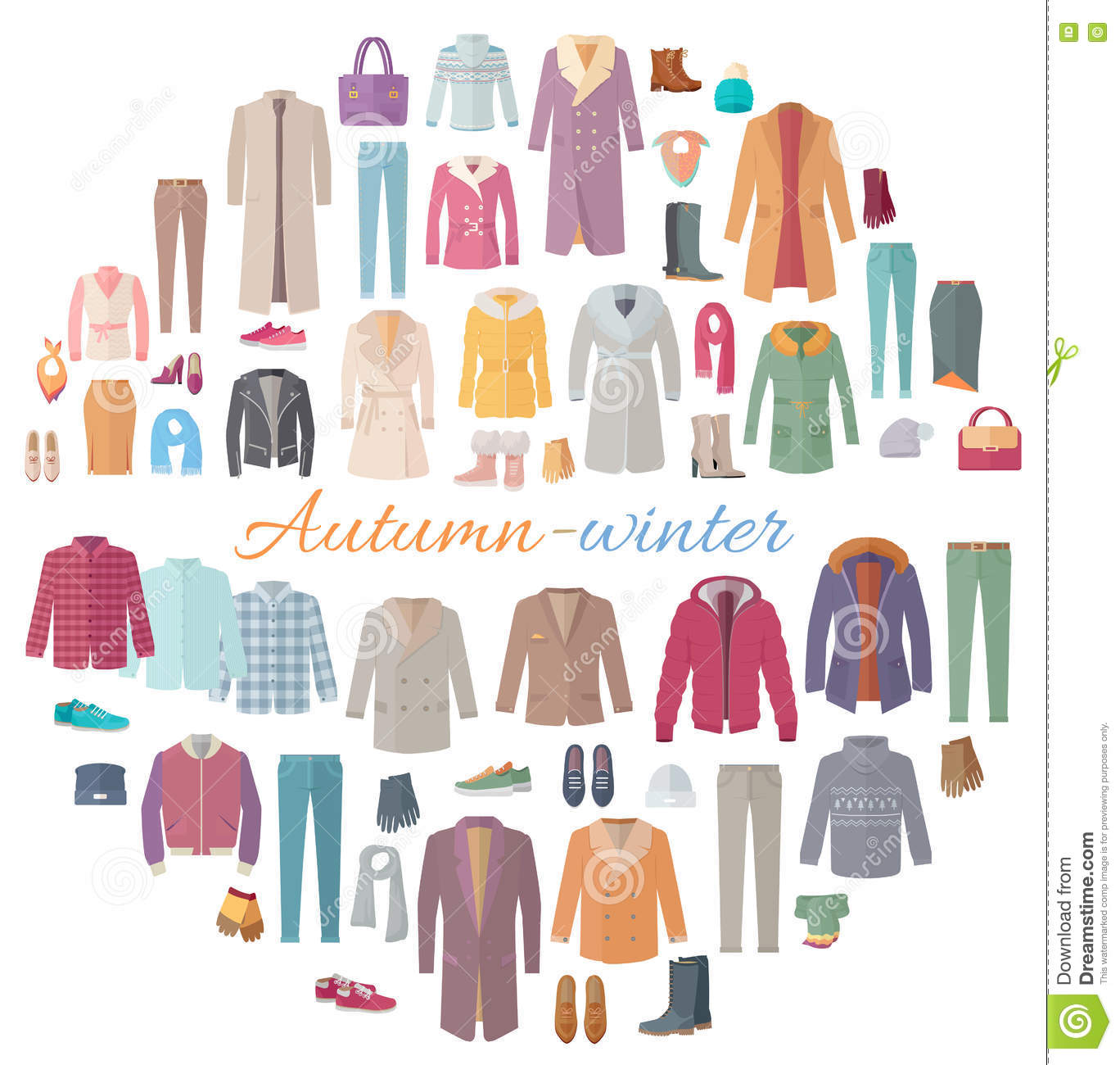 Blouses cartoons illustrations vector stock images 83 pictures to download from - Autumn plowing time all set for winter ...