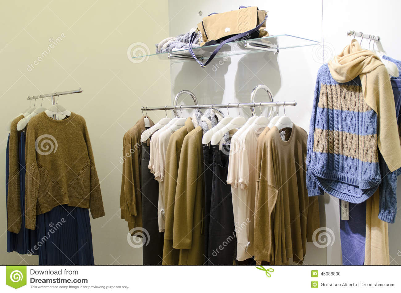 The collection clothing store
