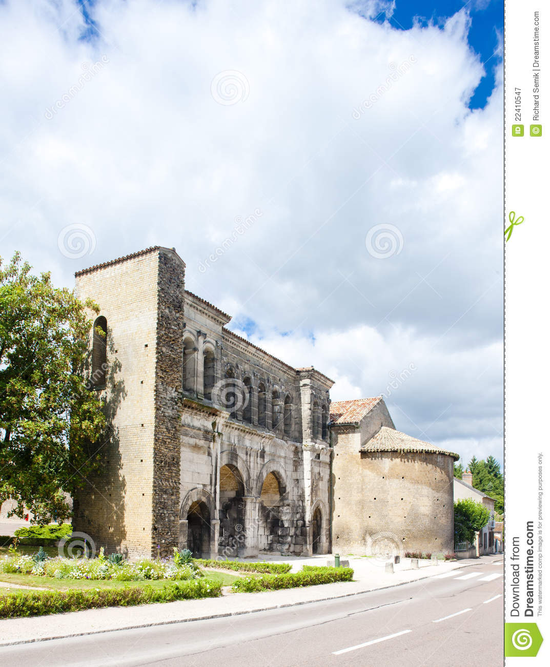 Autun France  city pictures gallery : Autun, France Royalty Free Stock Photography Image: 22410547