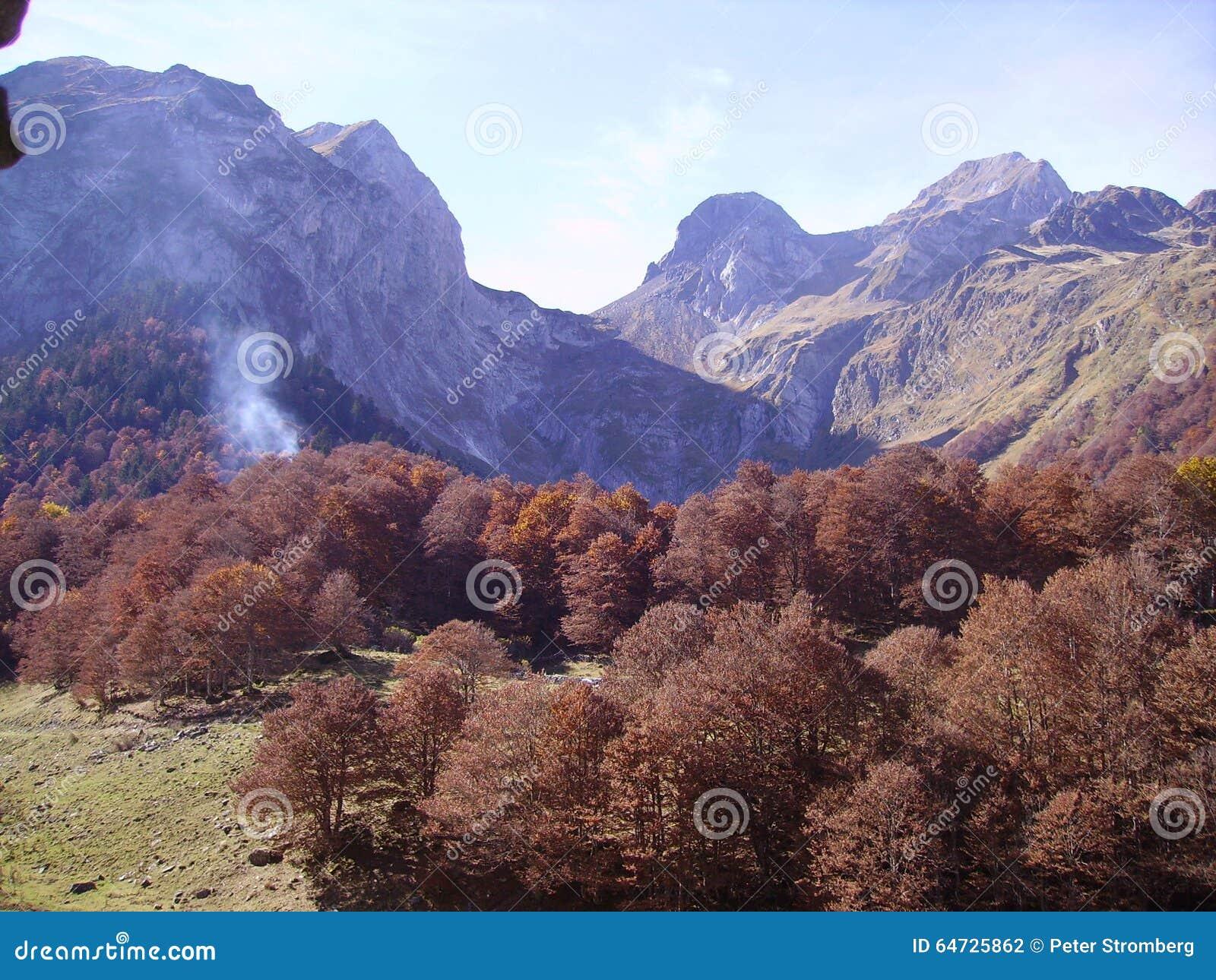 Autunno nei pyrenees