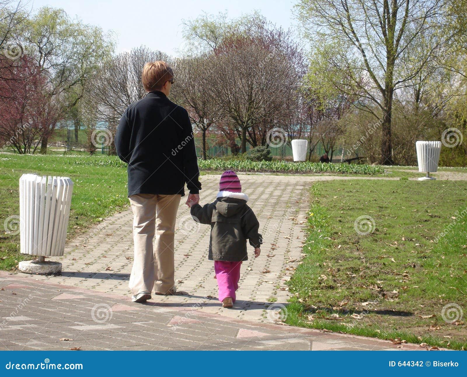 Avó com neta