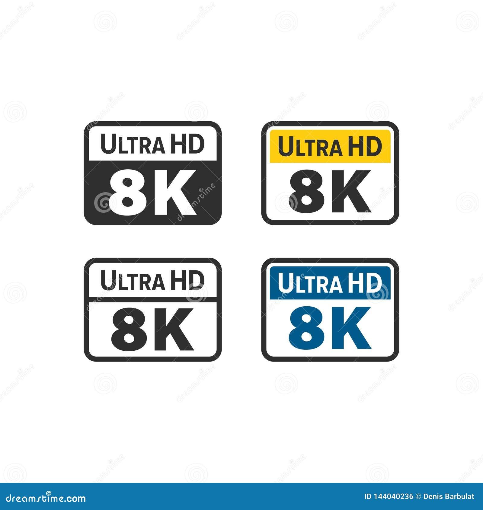 Ultra HD 8K icon