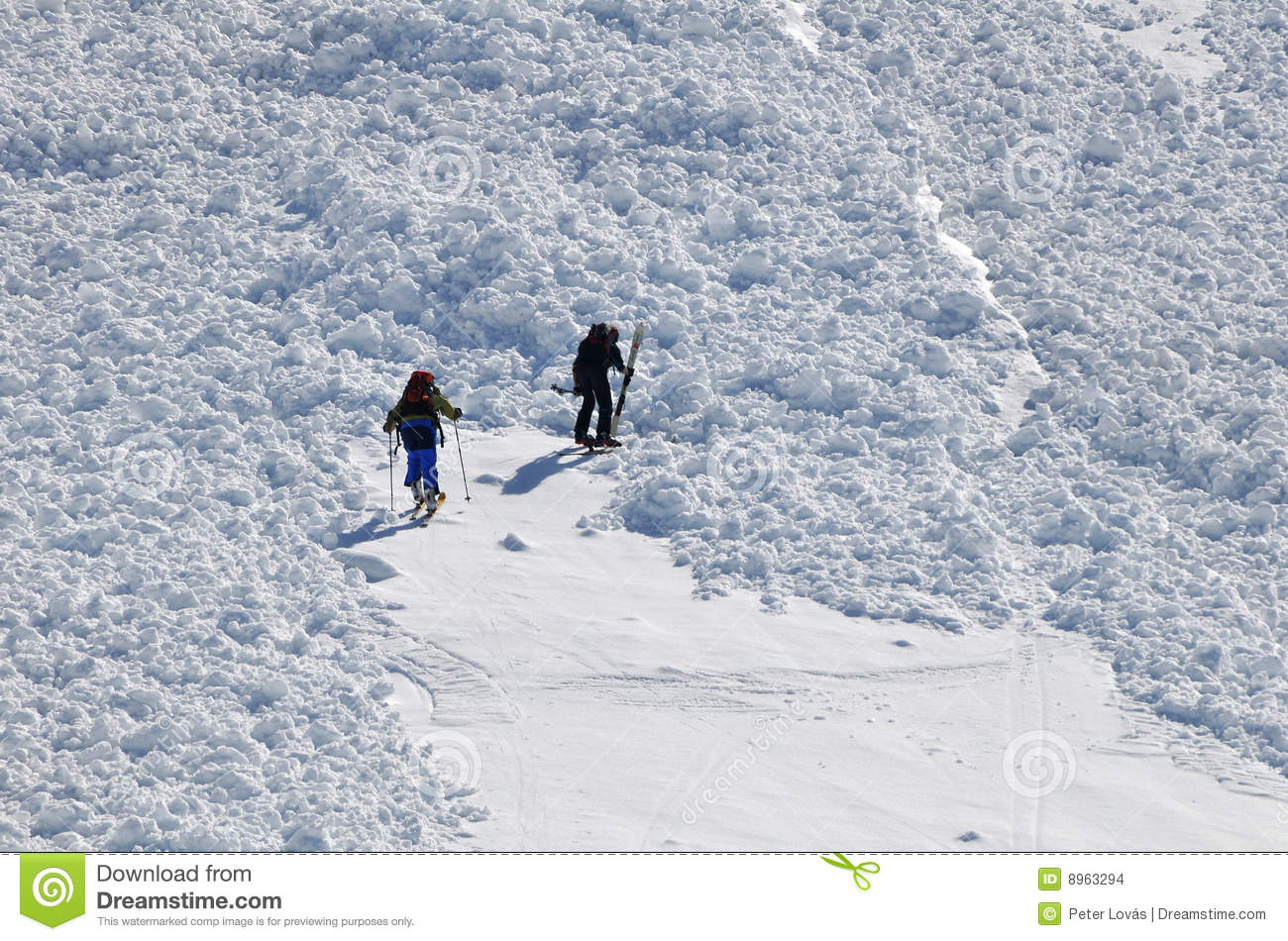 Avalanche-barrier