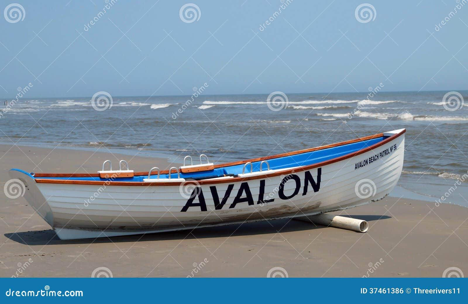 3001ee76ed6 Avalon Beach Patrol Boat editorial photo. Image of landscape - 37461386