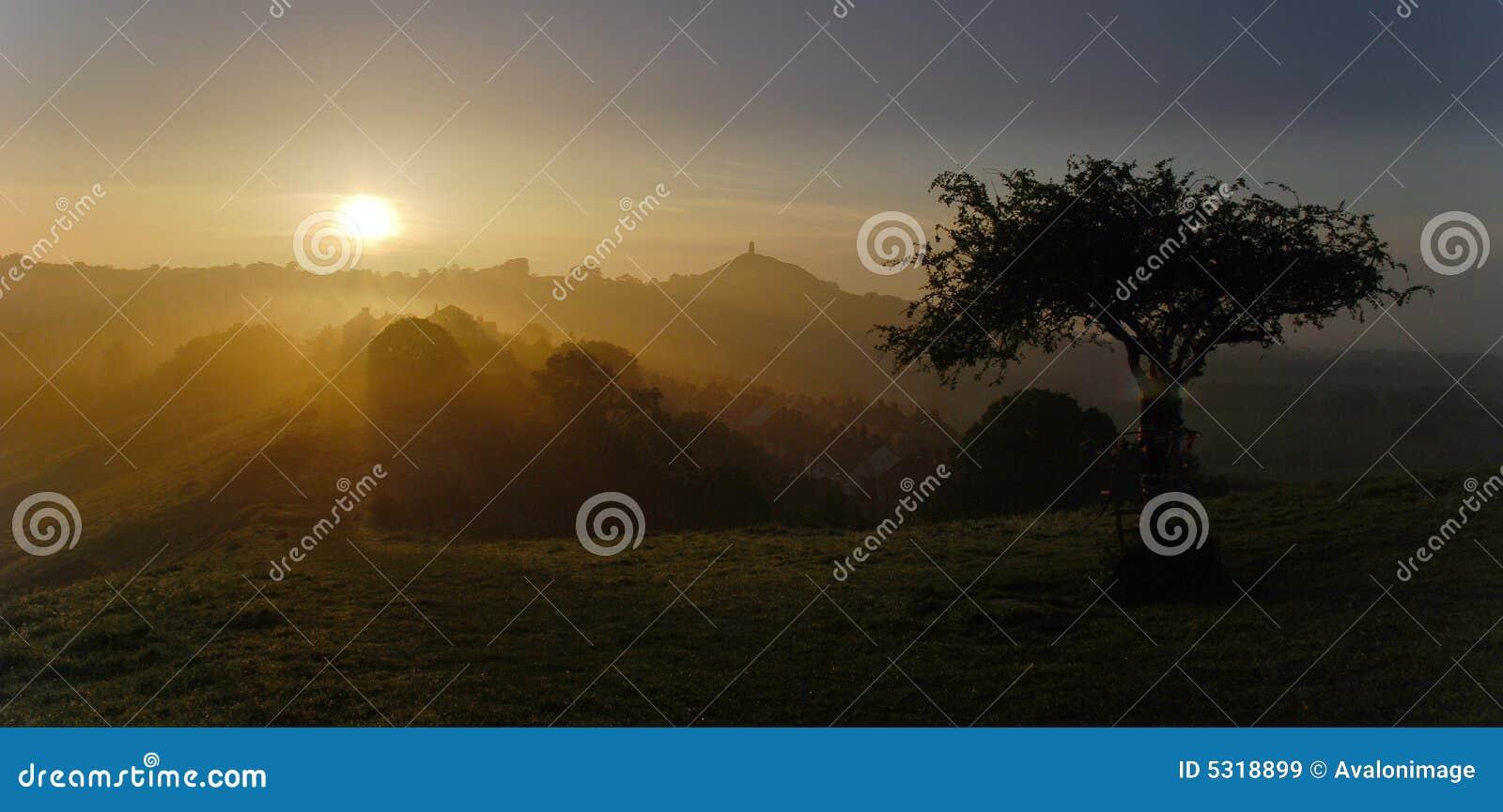 Avalon morning sunrise