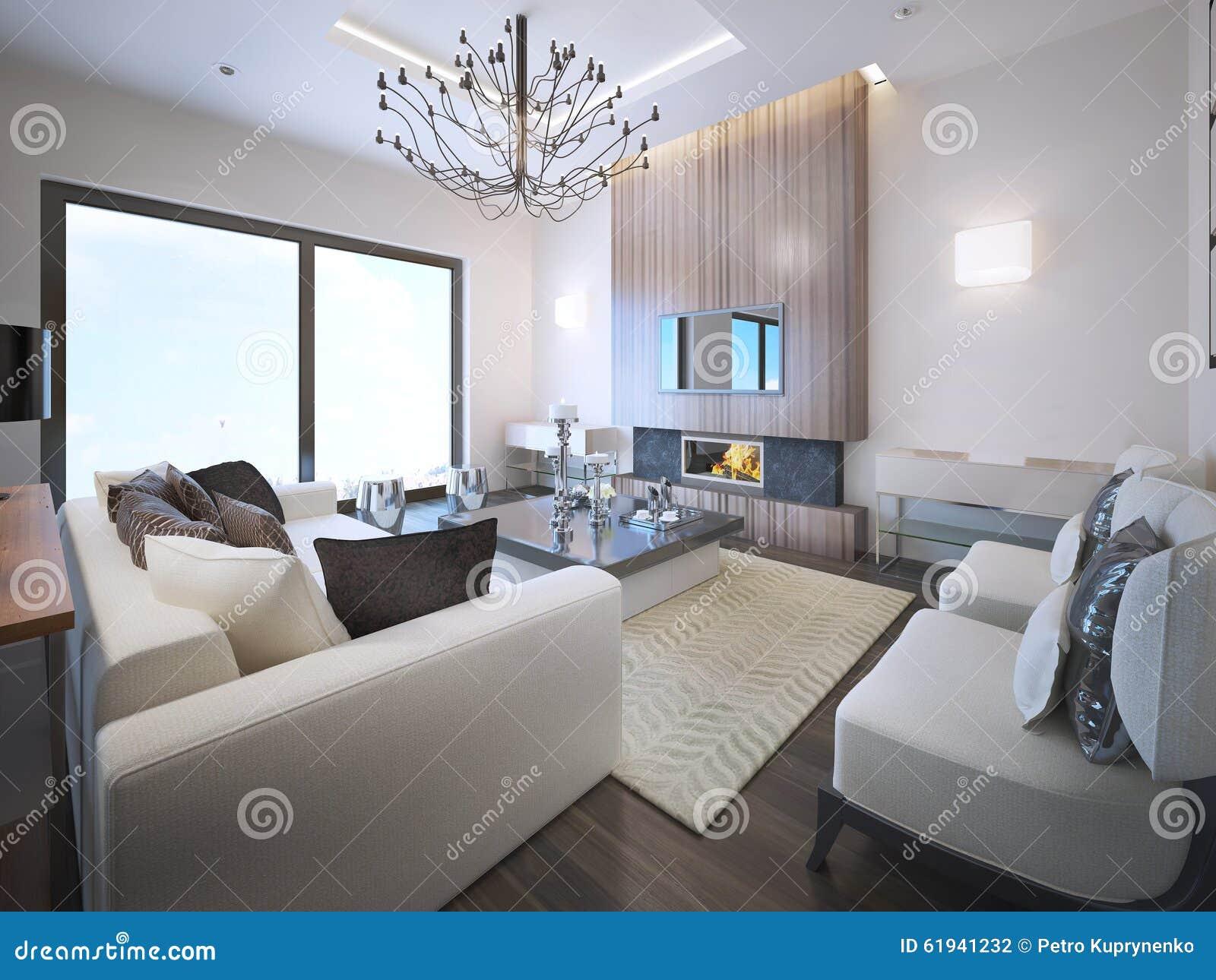 Avantgarde Living Room Trend Stock Illustration Image - Avant garde living rooms
