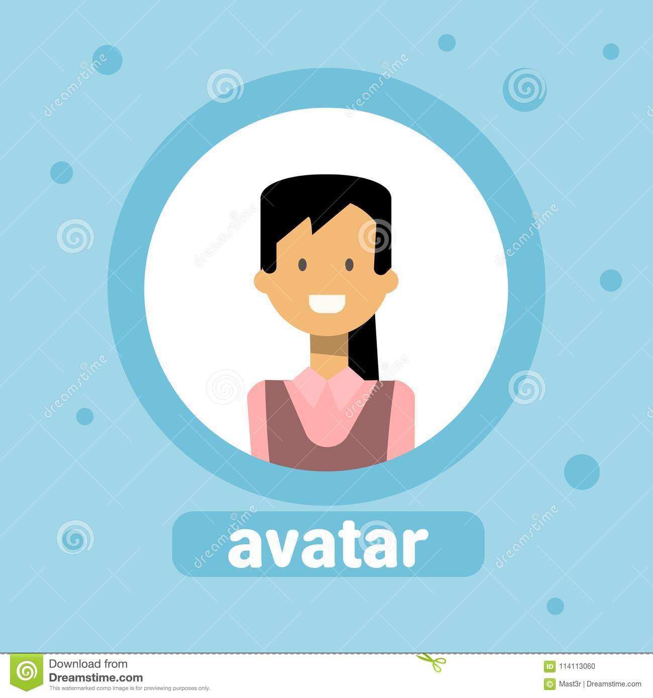Avatar Of Business Woman Profile Icon Element User Image