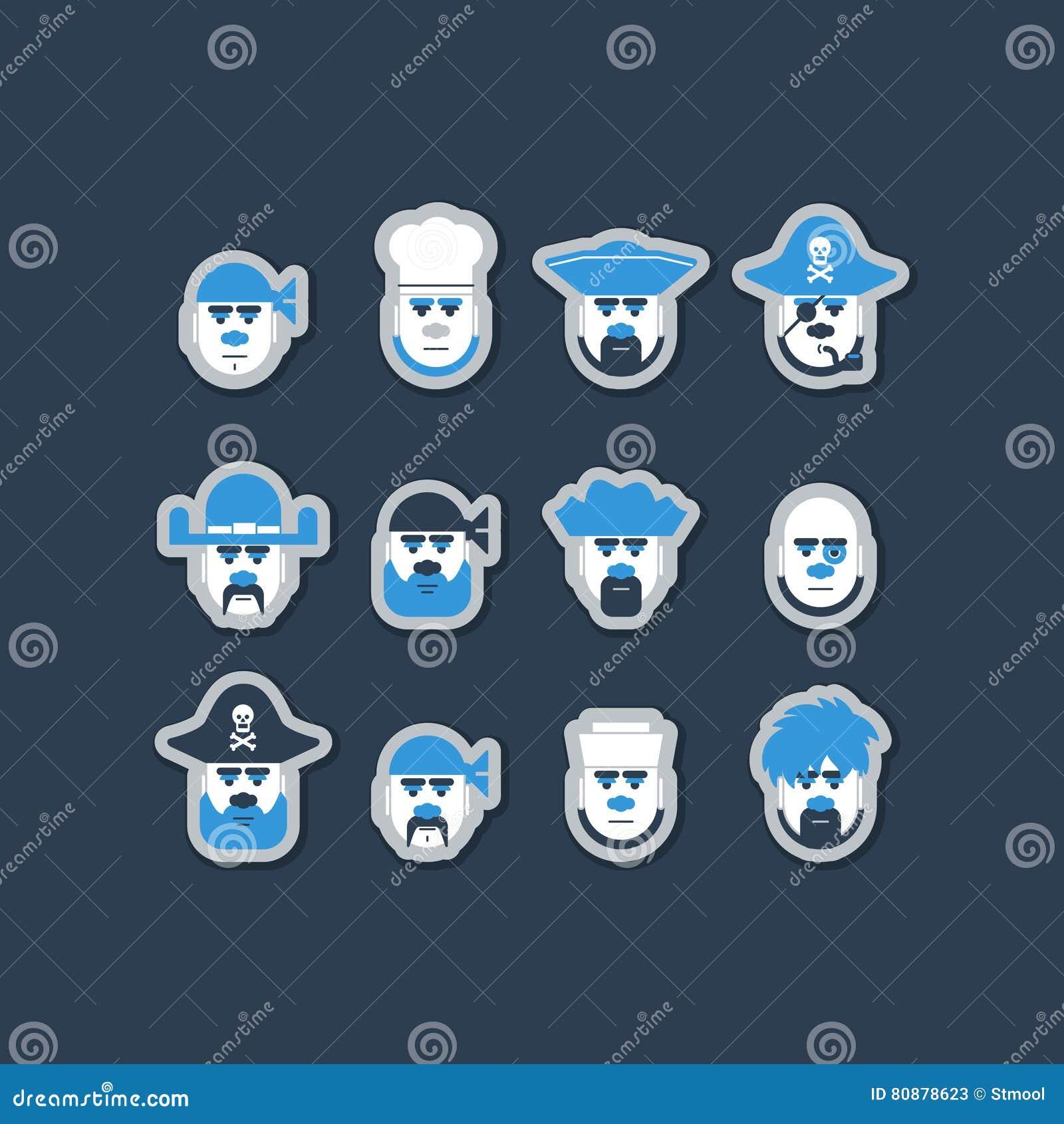 Avatar della squadra di nave del pirata messi