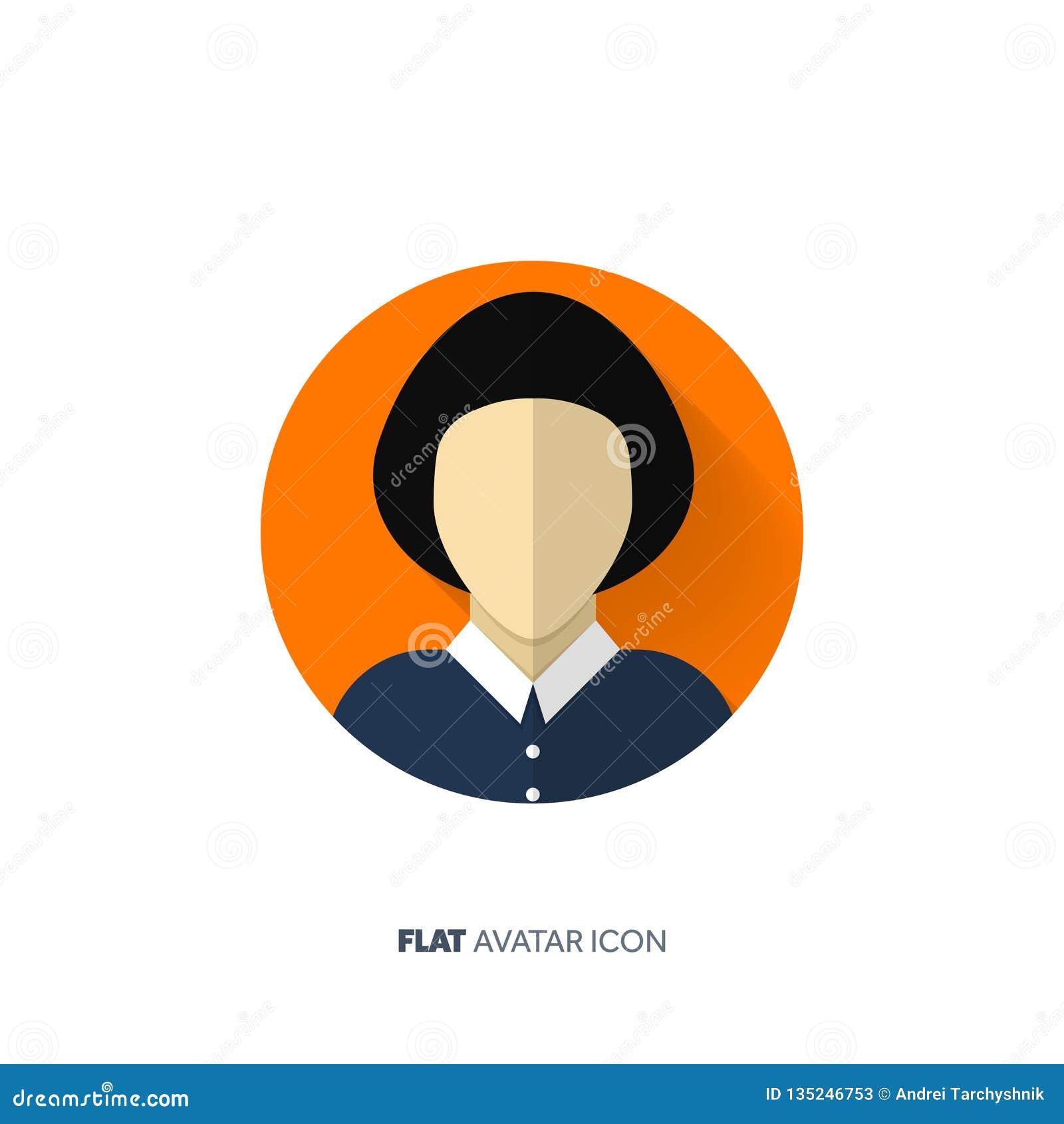 Avatara in einer flachen Art person Ein Bündel Leute, habend Gespräche jugendlicher Männliches oder weibliches Gesicht