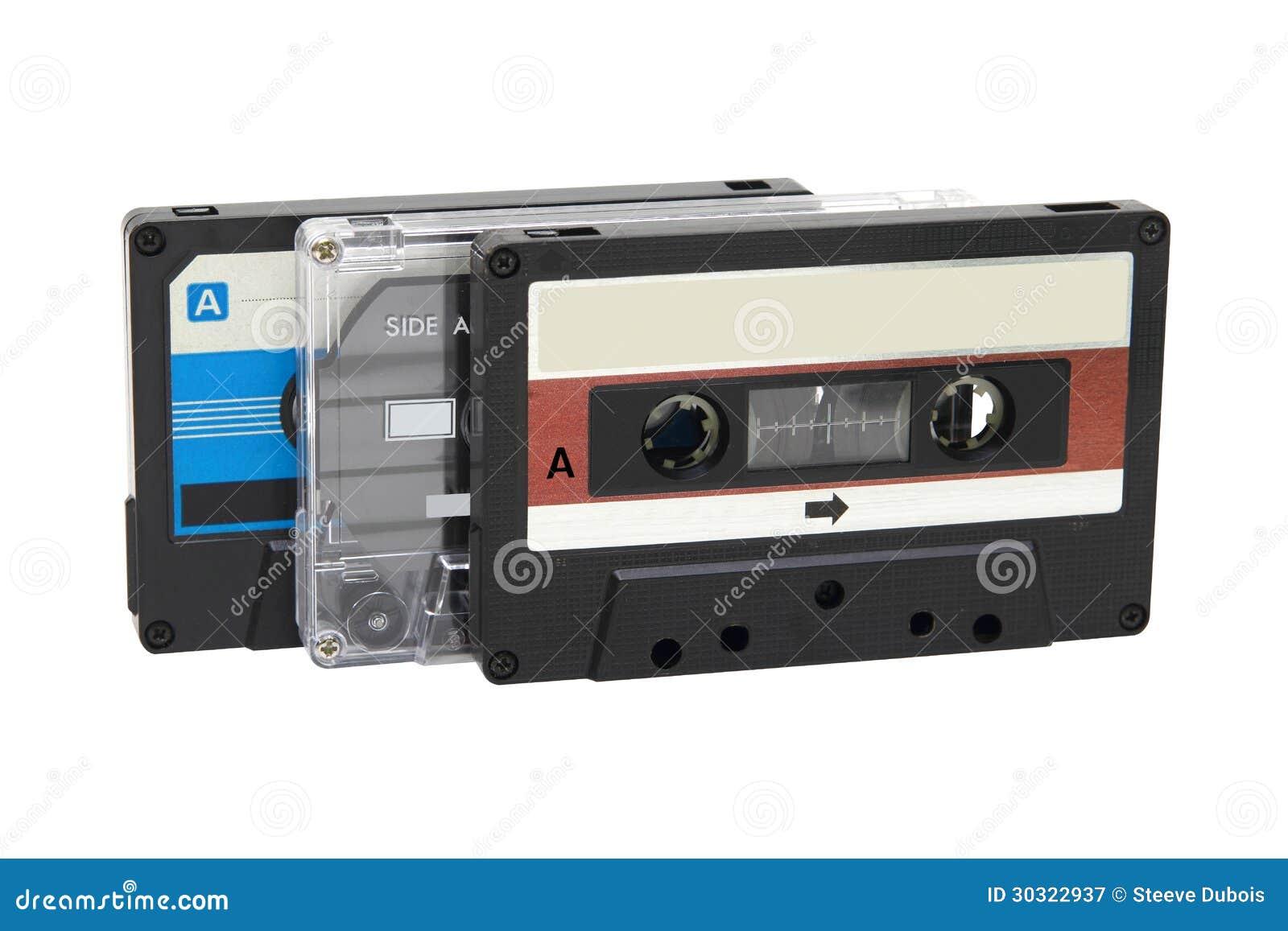 Tejpar kompakt kassett tre