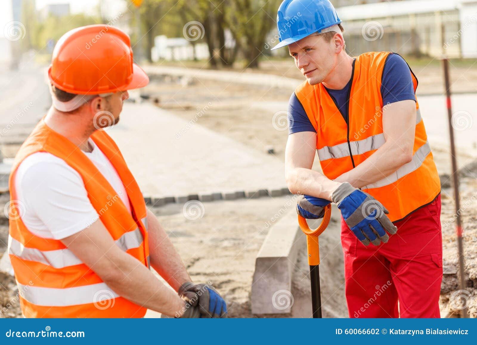 Avbrott under jobb