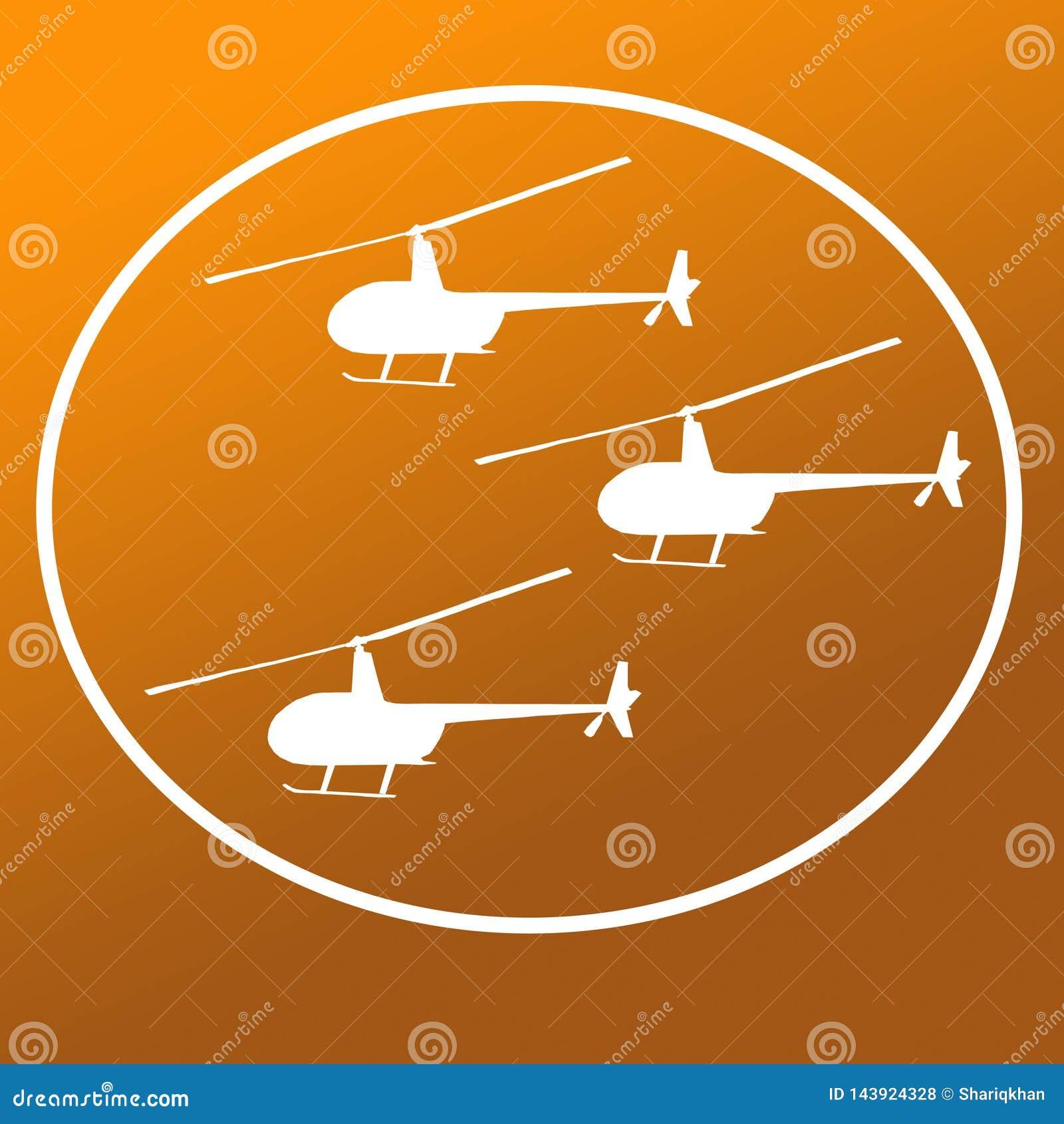 Avbrytarhelikoptrar Logo Banner Background Image