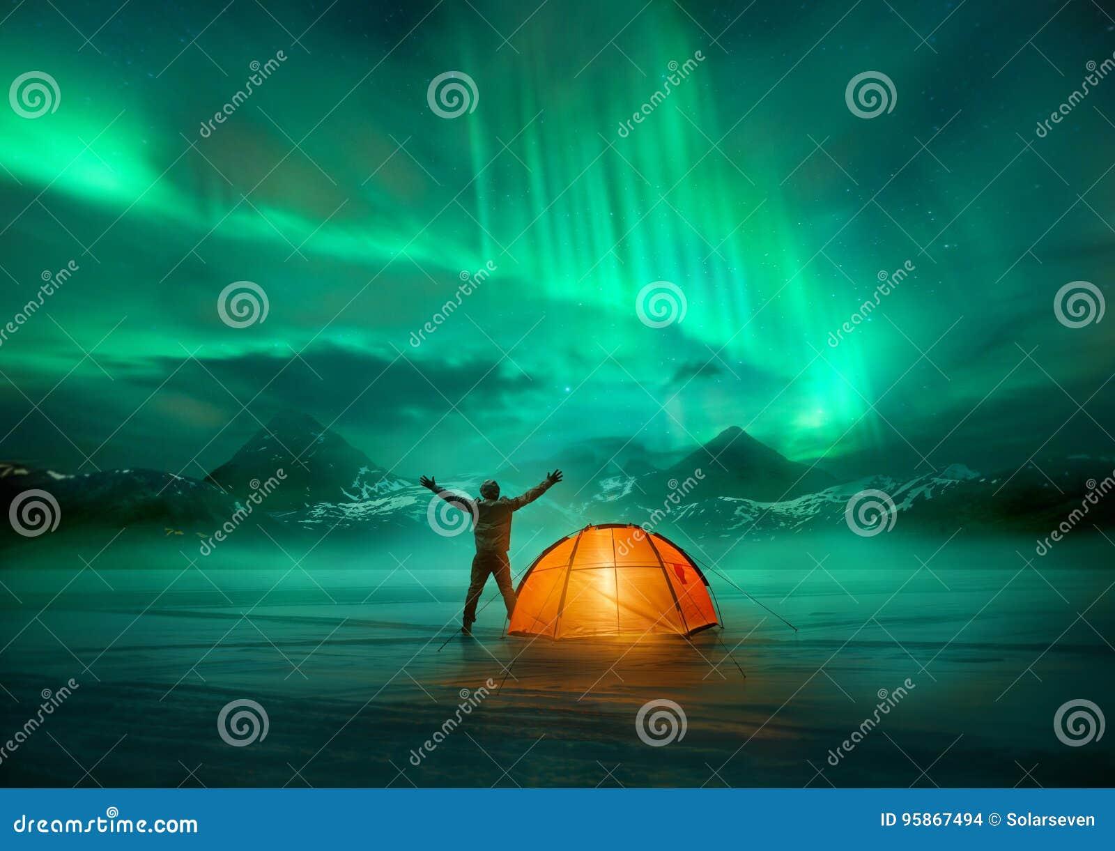 Aventura da aurora boreal