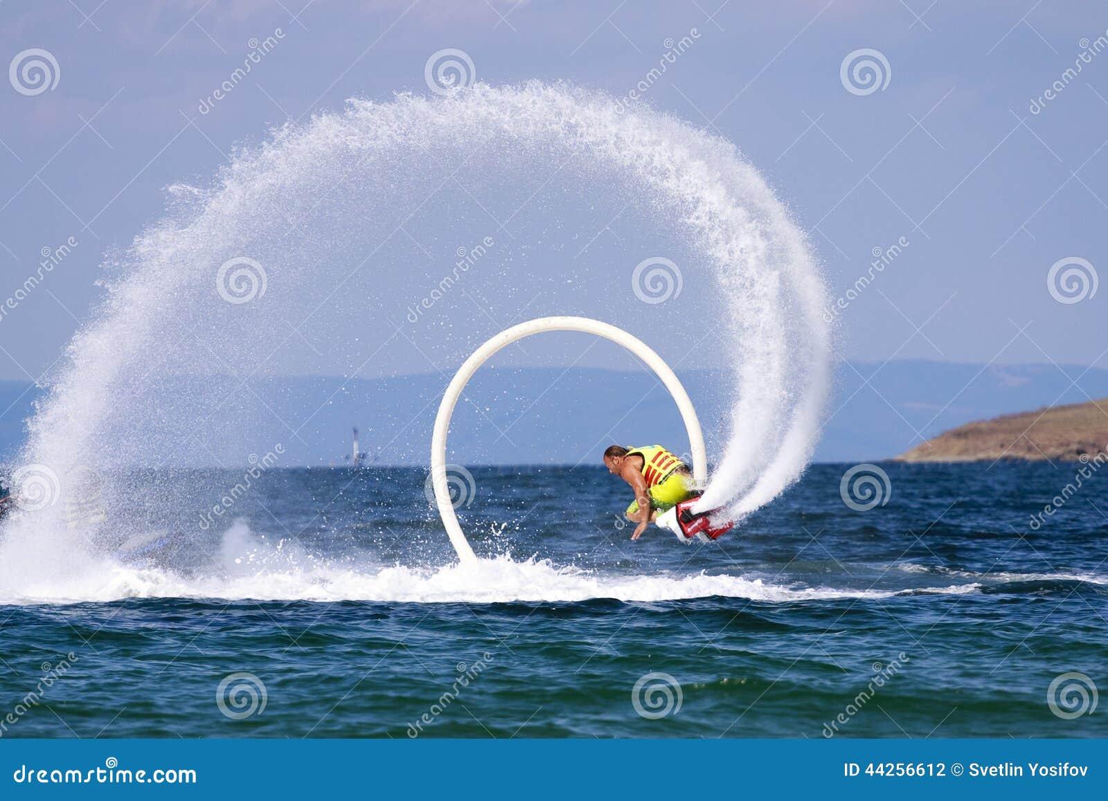 Aventura de Flyboard o Mar Negro