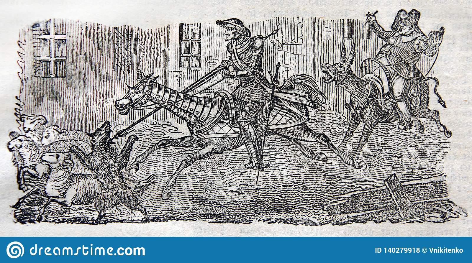 Aventuras de Sir Quixote del La Mancha