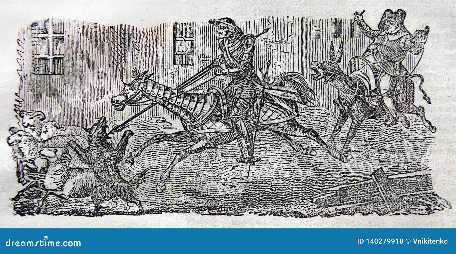 Aventuras de Sir Quixote do La Mancha