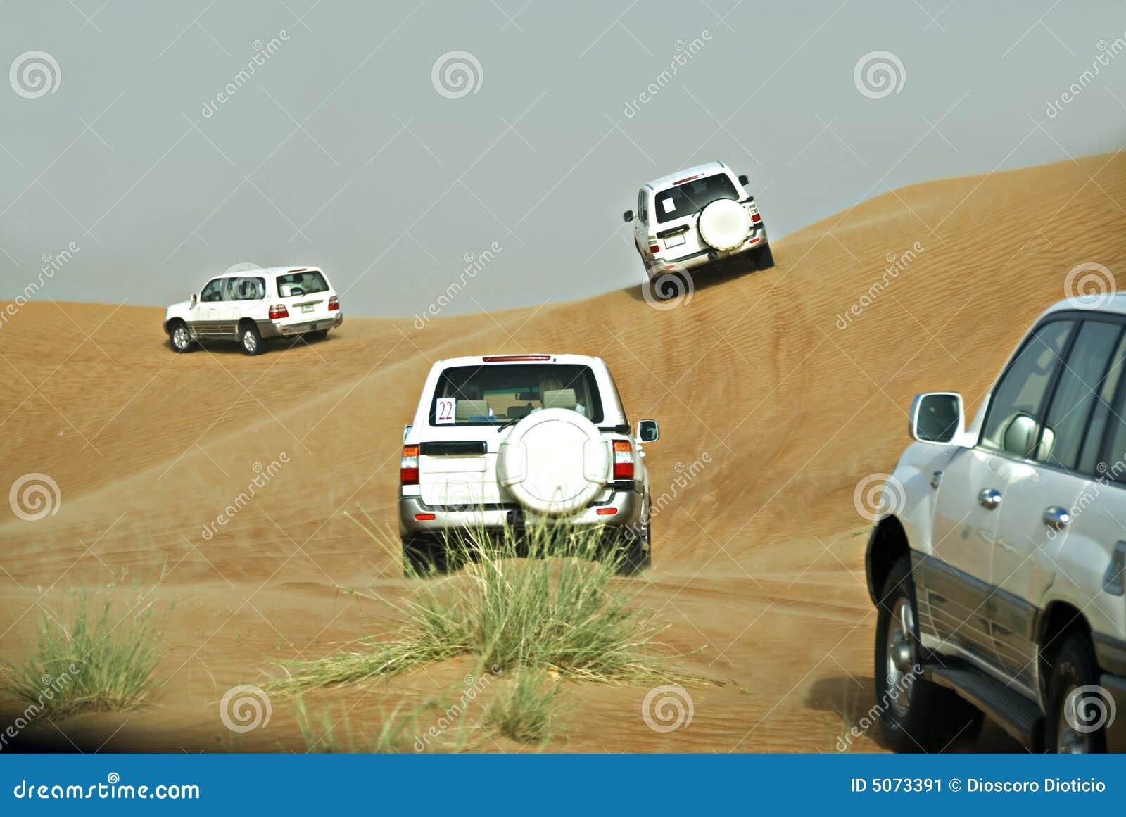 Aventure de désert