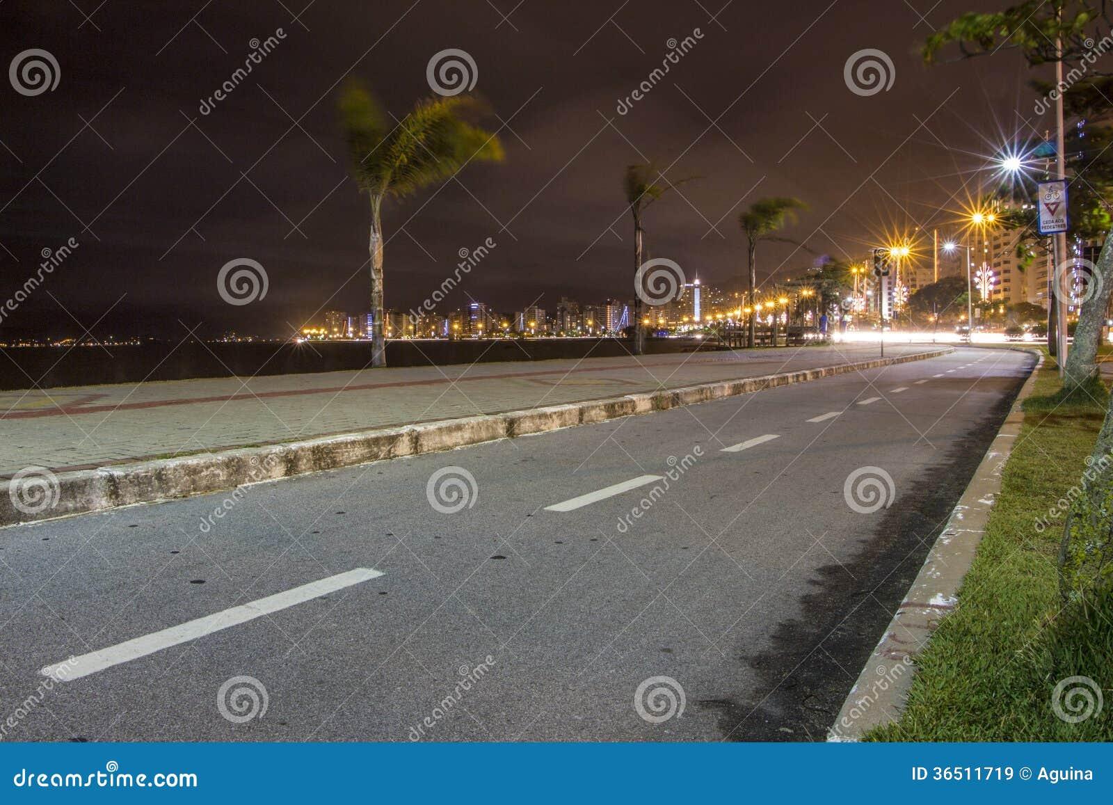 Avenue de Beira mars - Florianopolis - Sc - Brésil