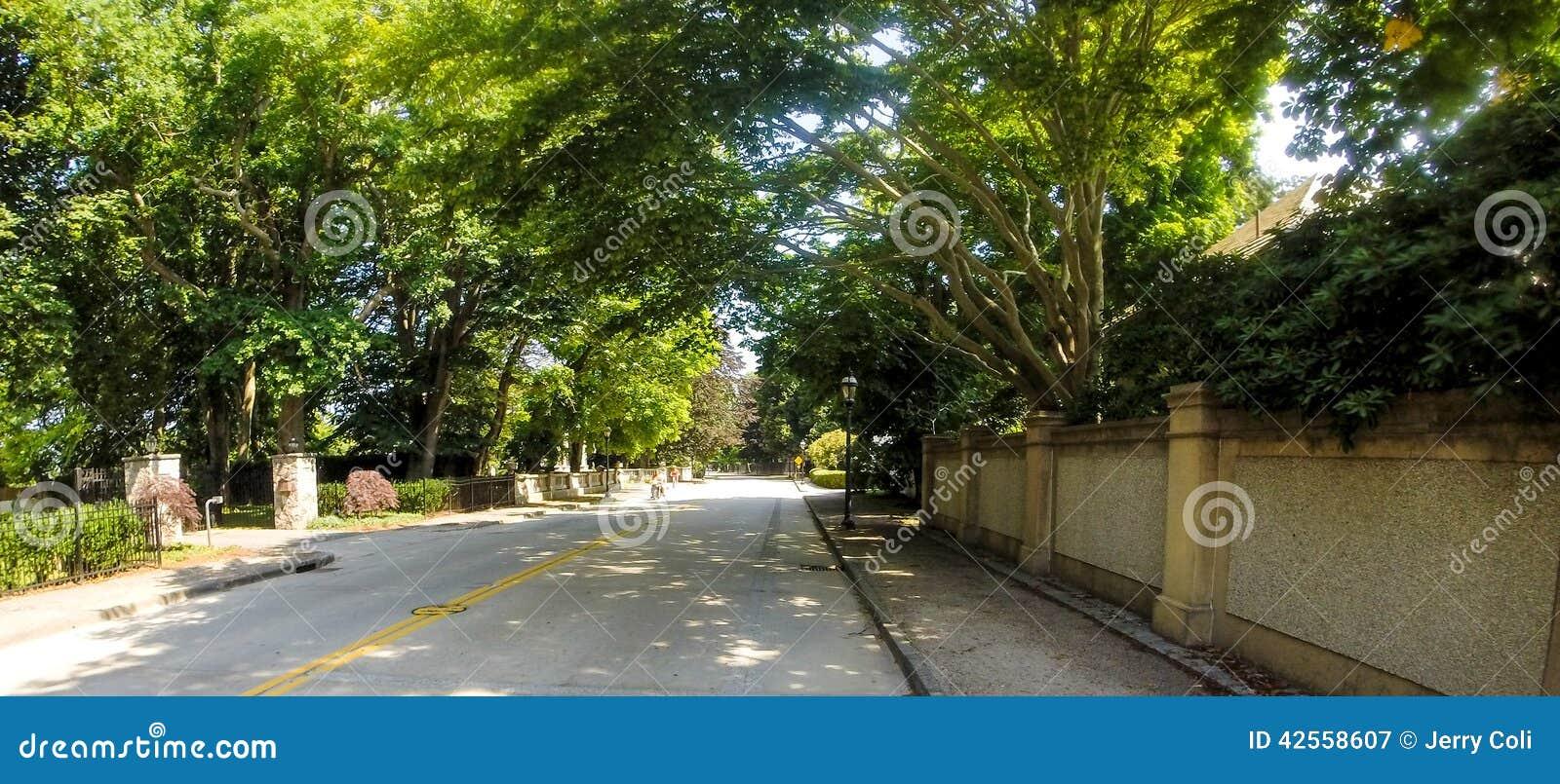 Avenue de Bellevue, Newport, RI