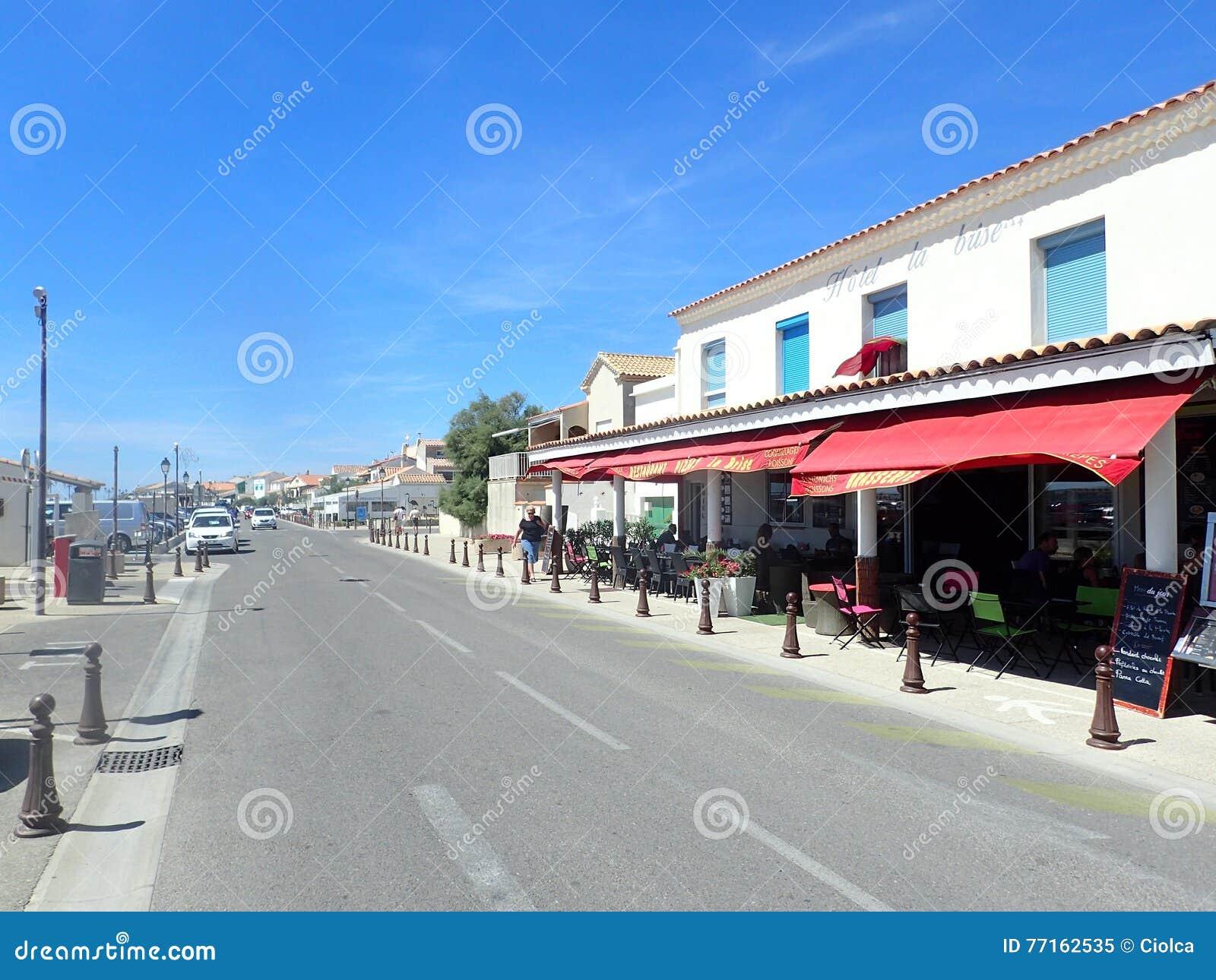 Avenue Gilbert Leroy, Saintes-Maries-de-la-Mer, France