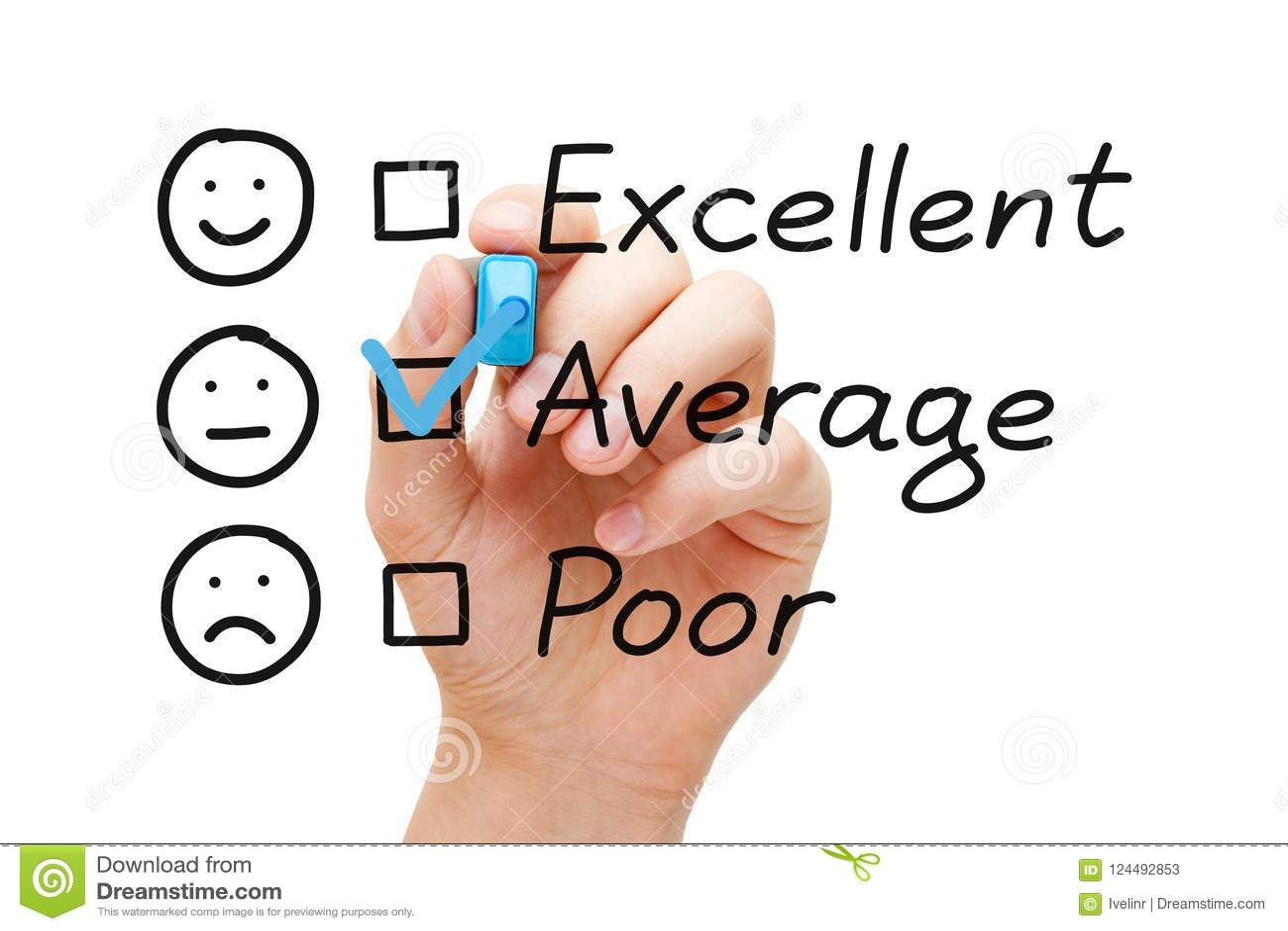 Average Customer Service Evaluation Form