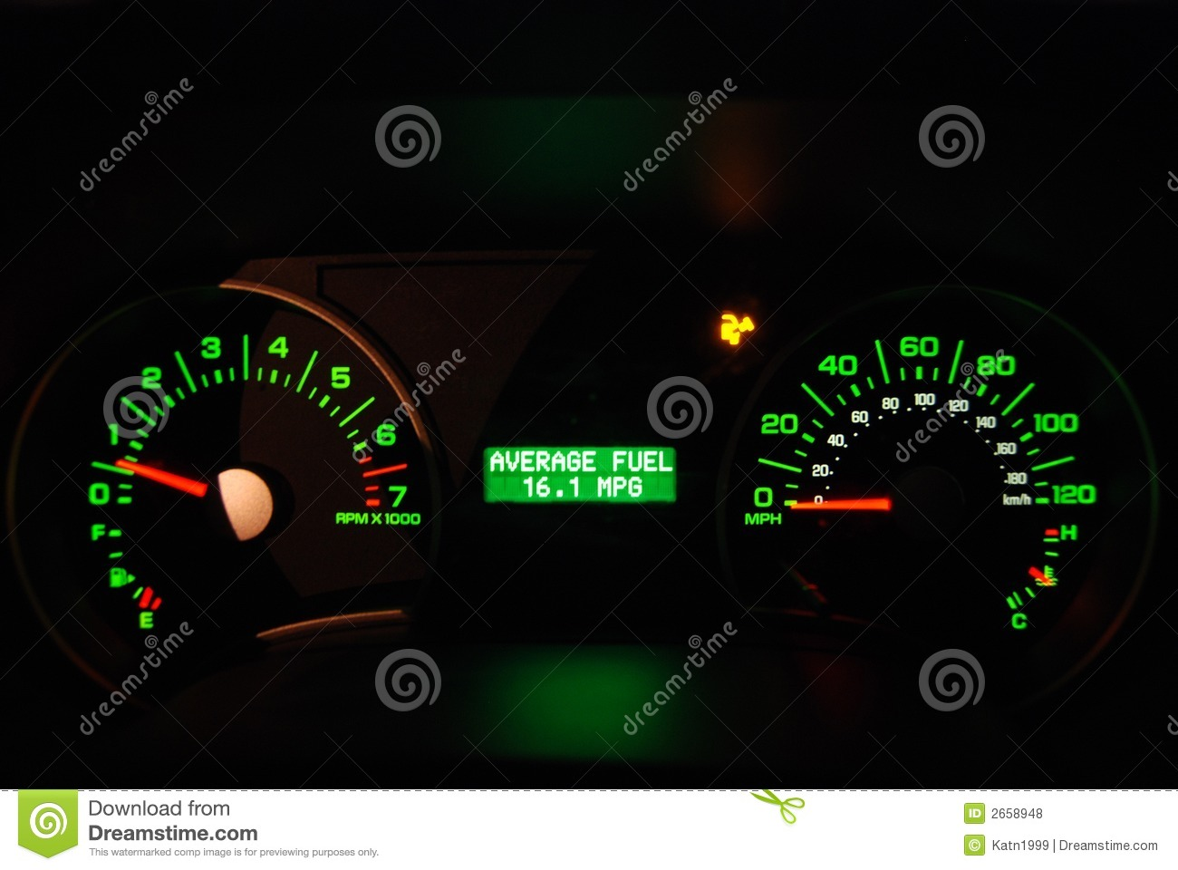 average miles per gallon mpg stock photo image of mpgs dashboard