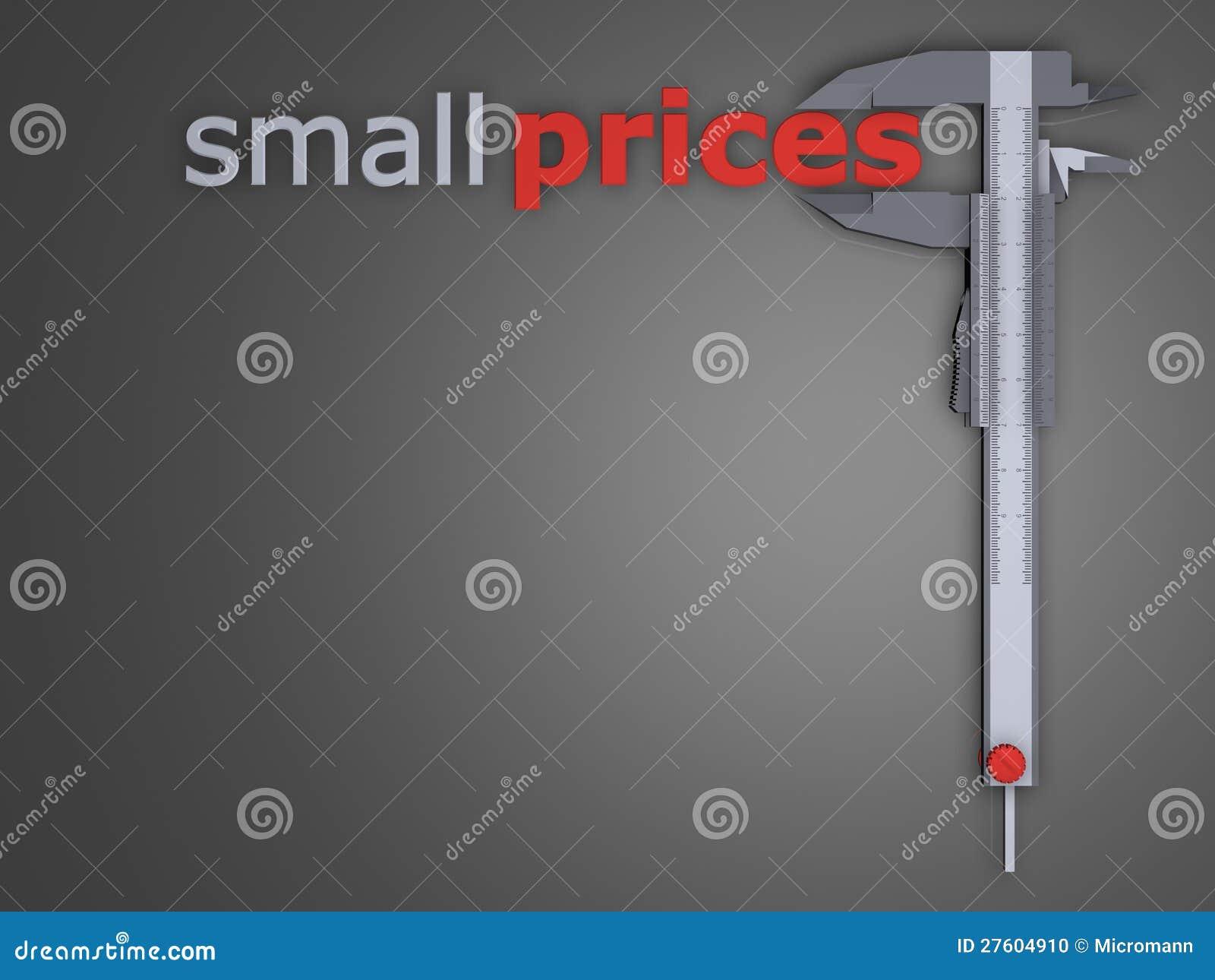 Avfärdar uppgift - lilla priser