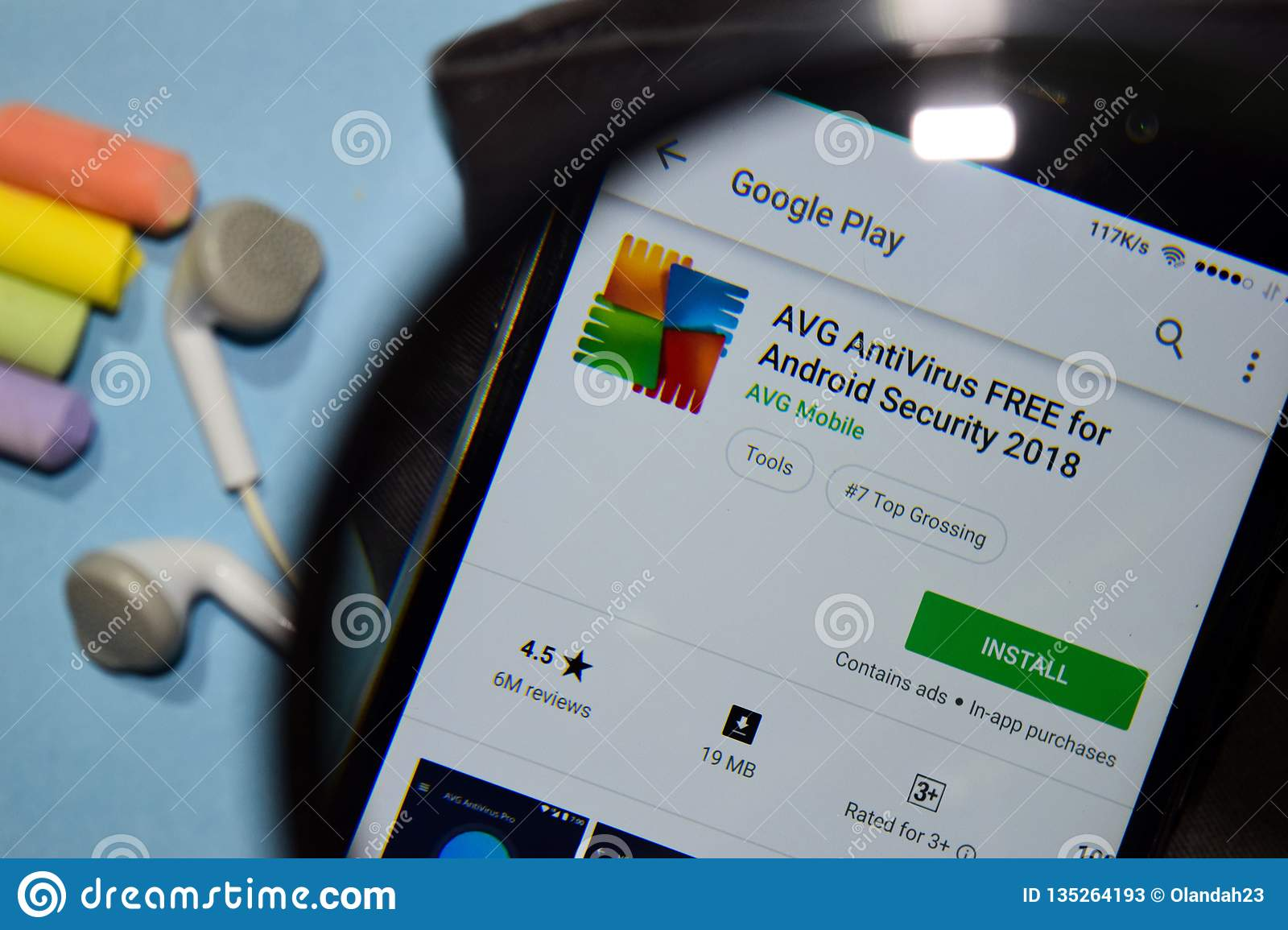 AVG AntiVirus FREE For Android Security 2018 Dev App With