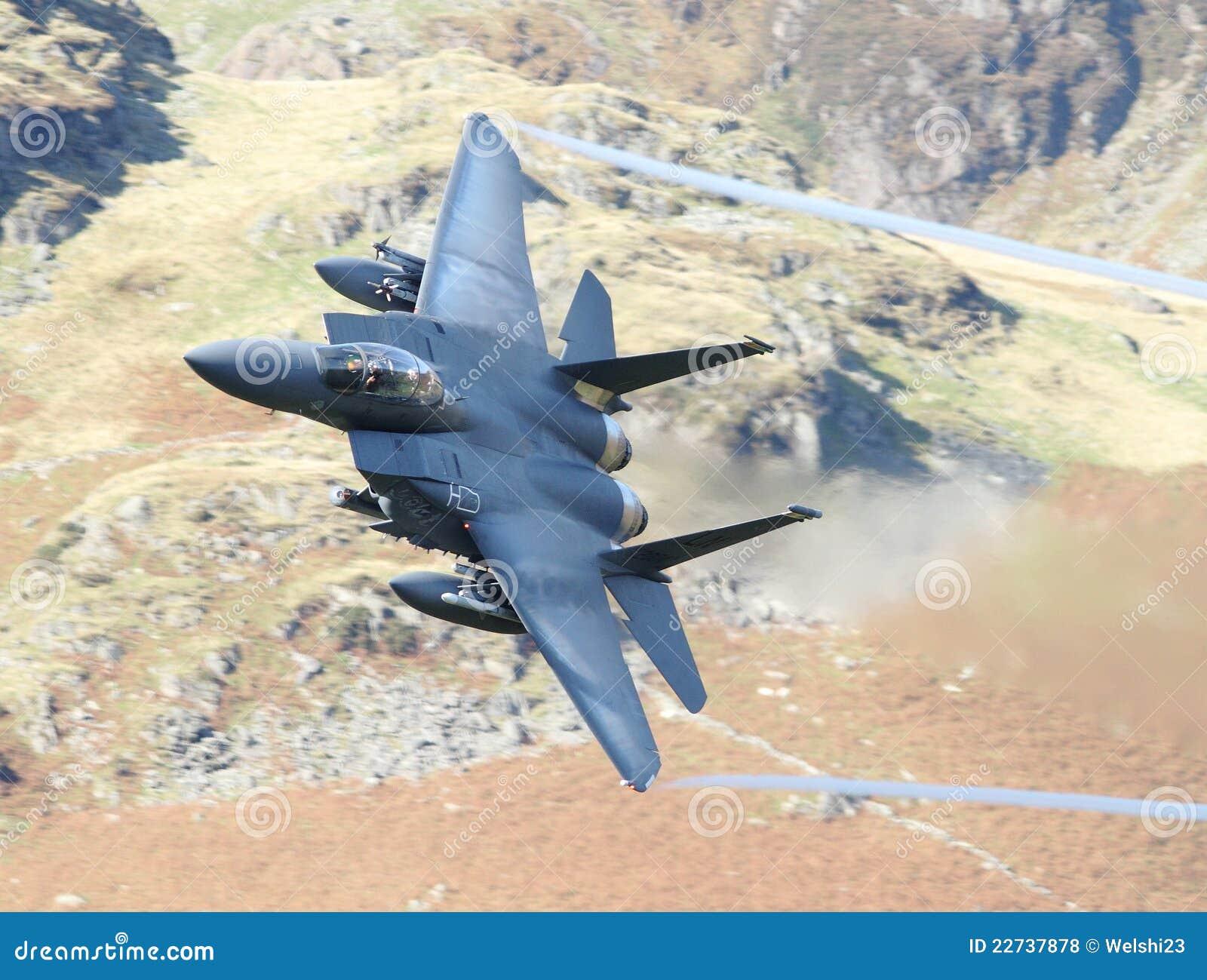 Avião de combate da águia F15