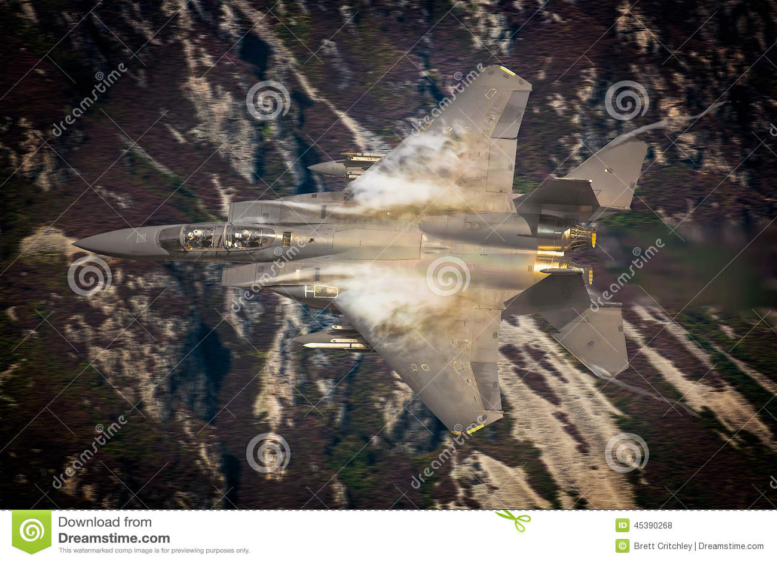Avião de combate do U.S.A.F. F15